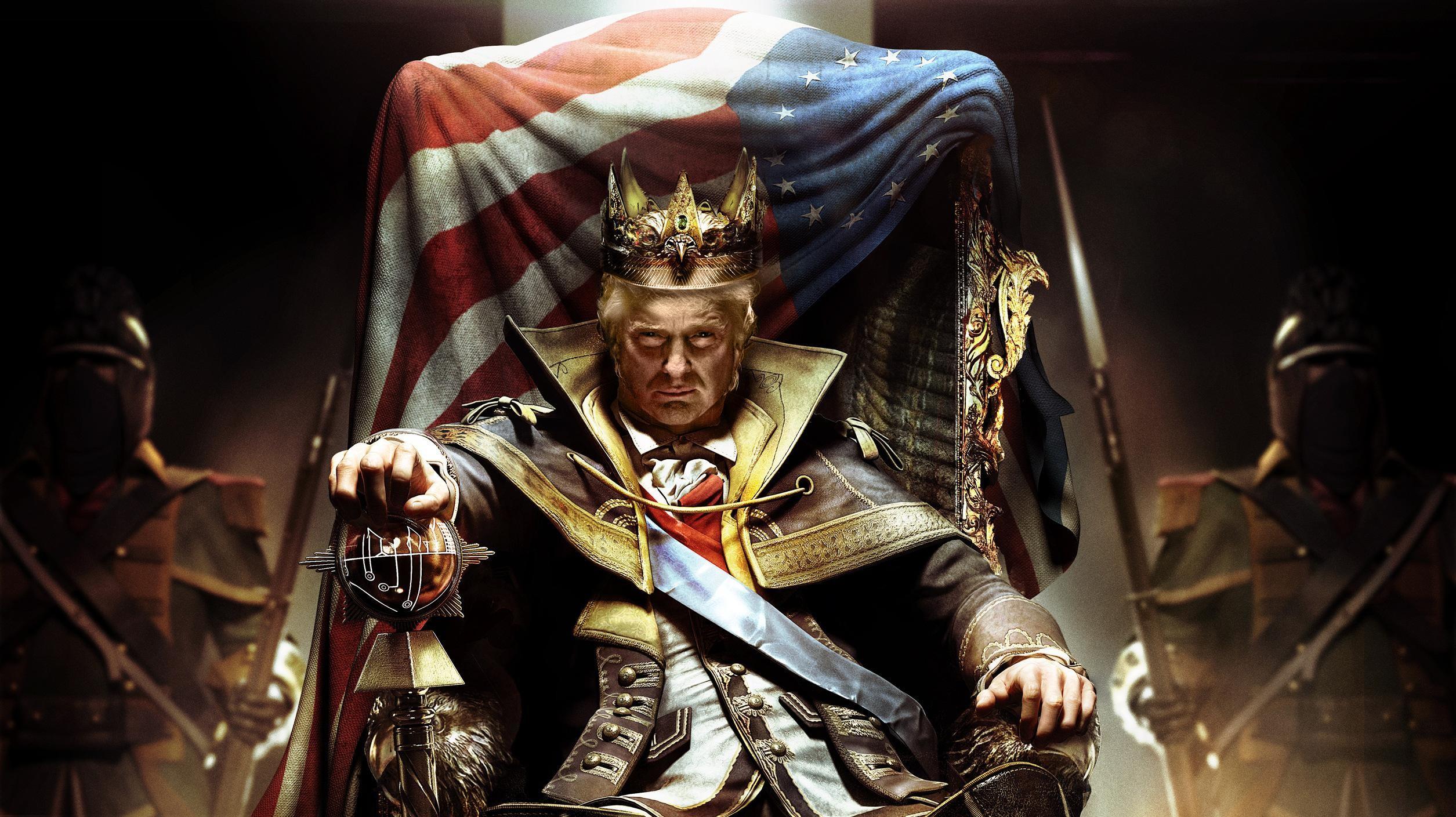 King Trump Wallpaper (1440p) …