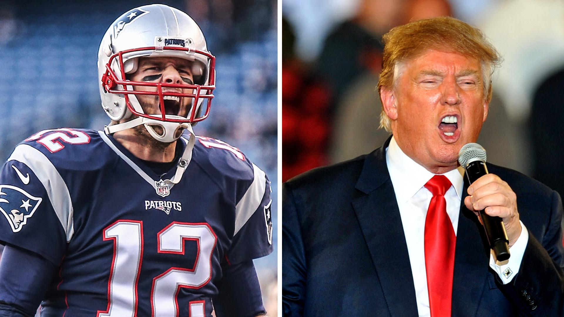 Donald Trump talks like he's Tom Brady's biggest fan | NFL | Sporting News