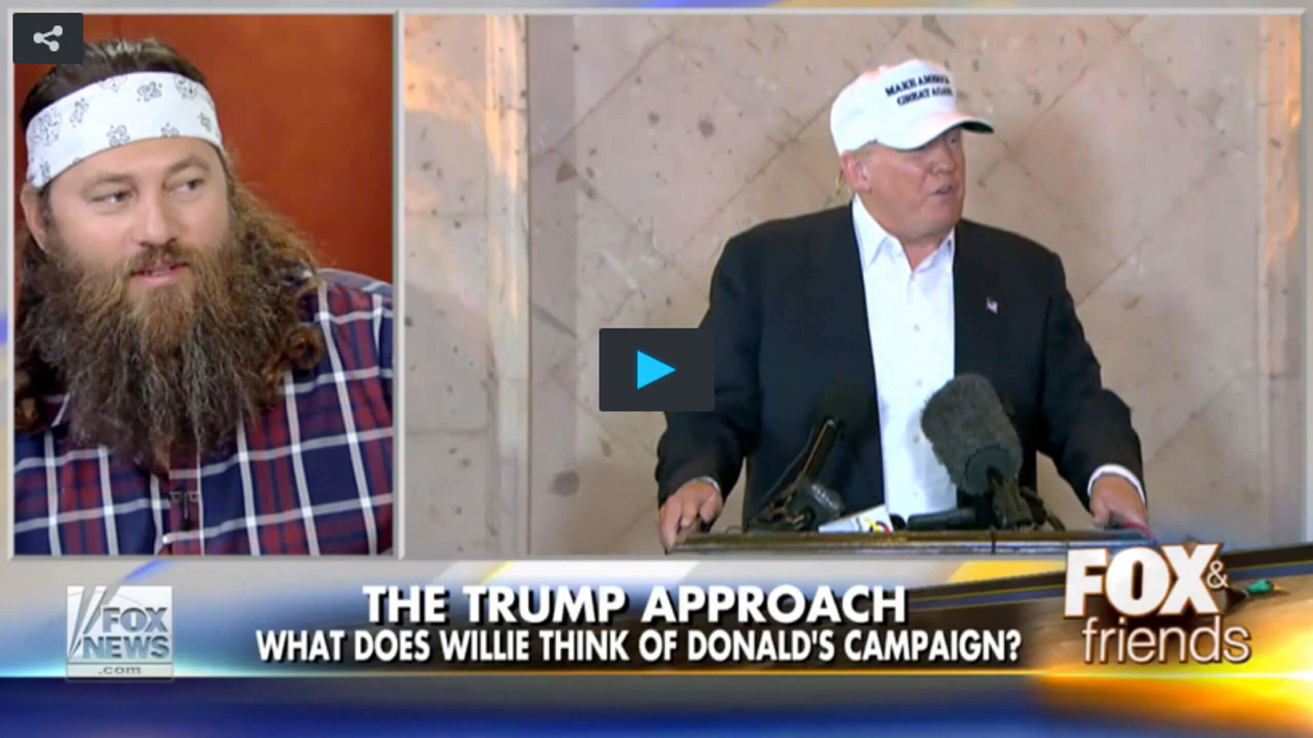 Image result for willie robertson donald trump