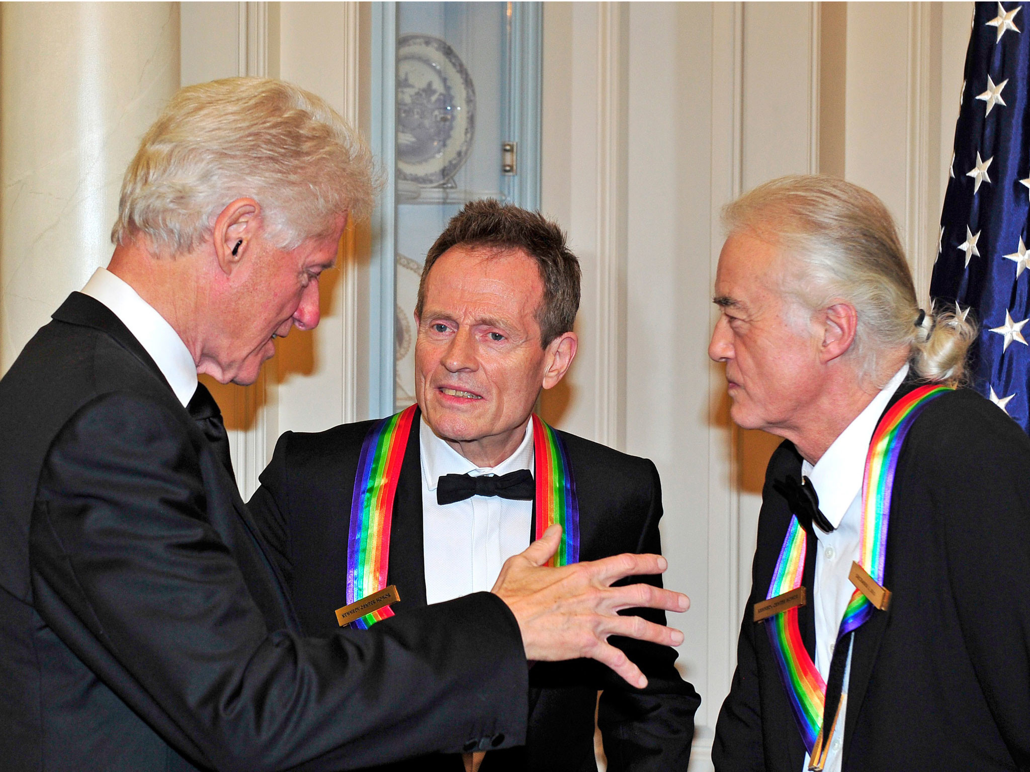 The peace deal even Bill Clinton couldn't broker – a Led Zeppelin reunion |  The Independent