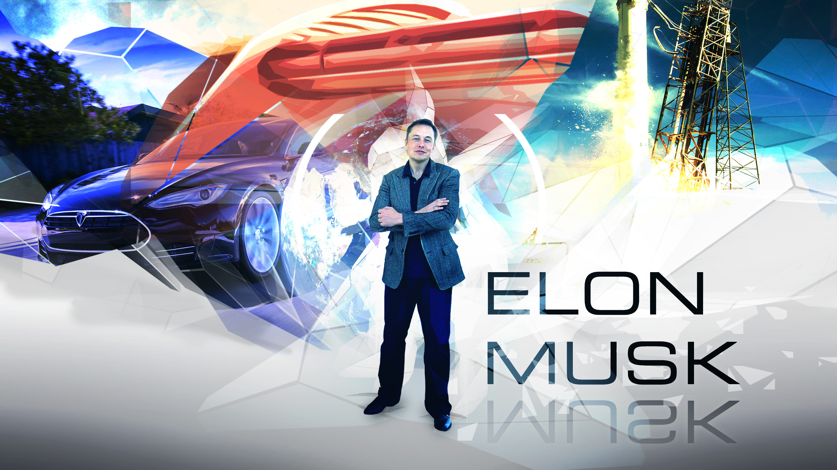 … Elon Musk wallpaper 16:9 by Klamek97
