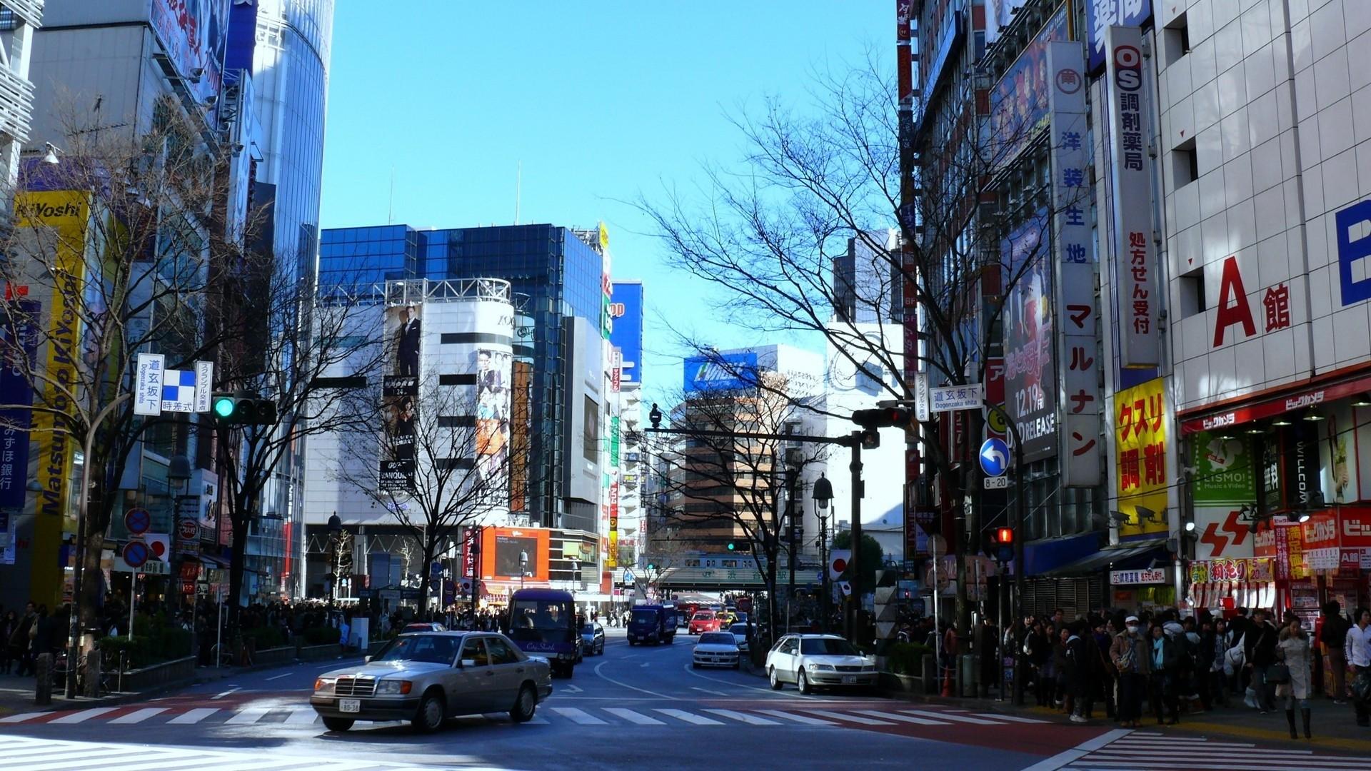 japan, tokyo, street