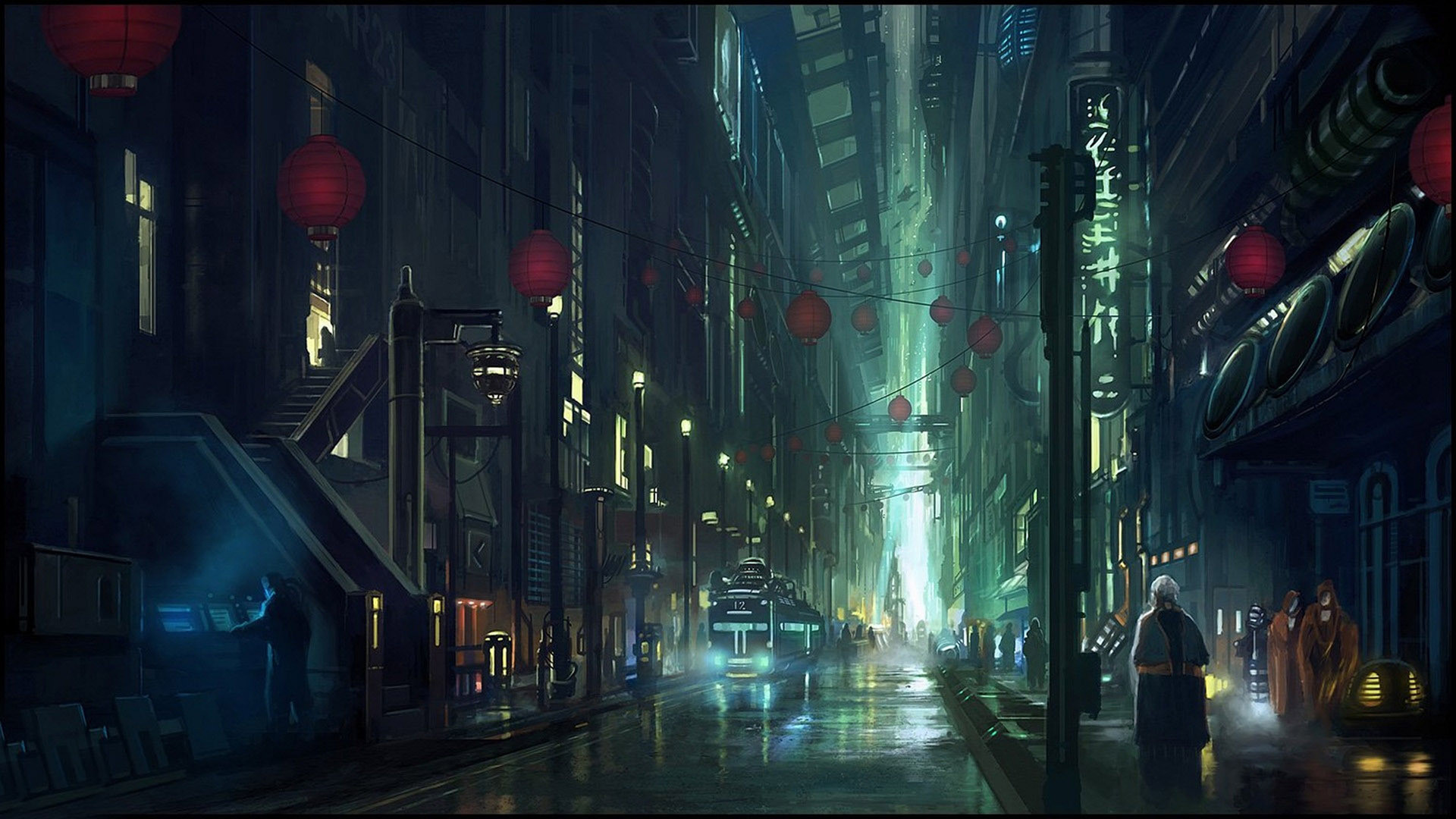 empty city street background – Google Search