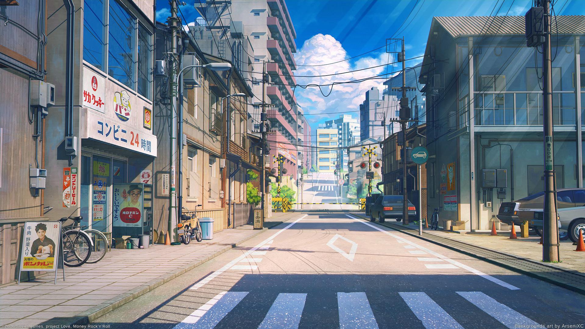 https://www.deviantart.com/art/Tokyo-street-