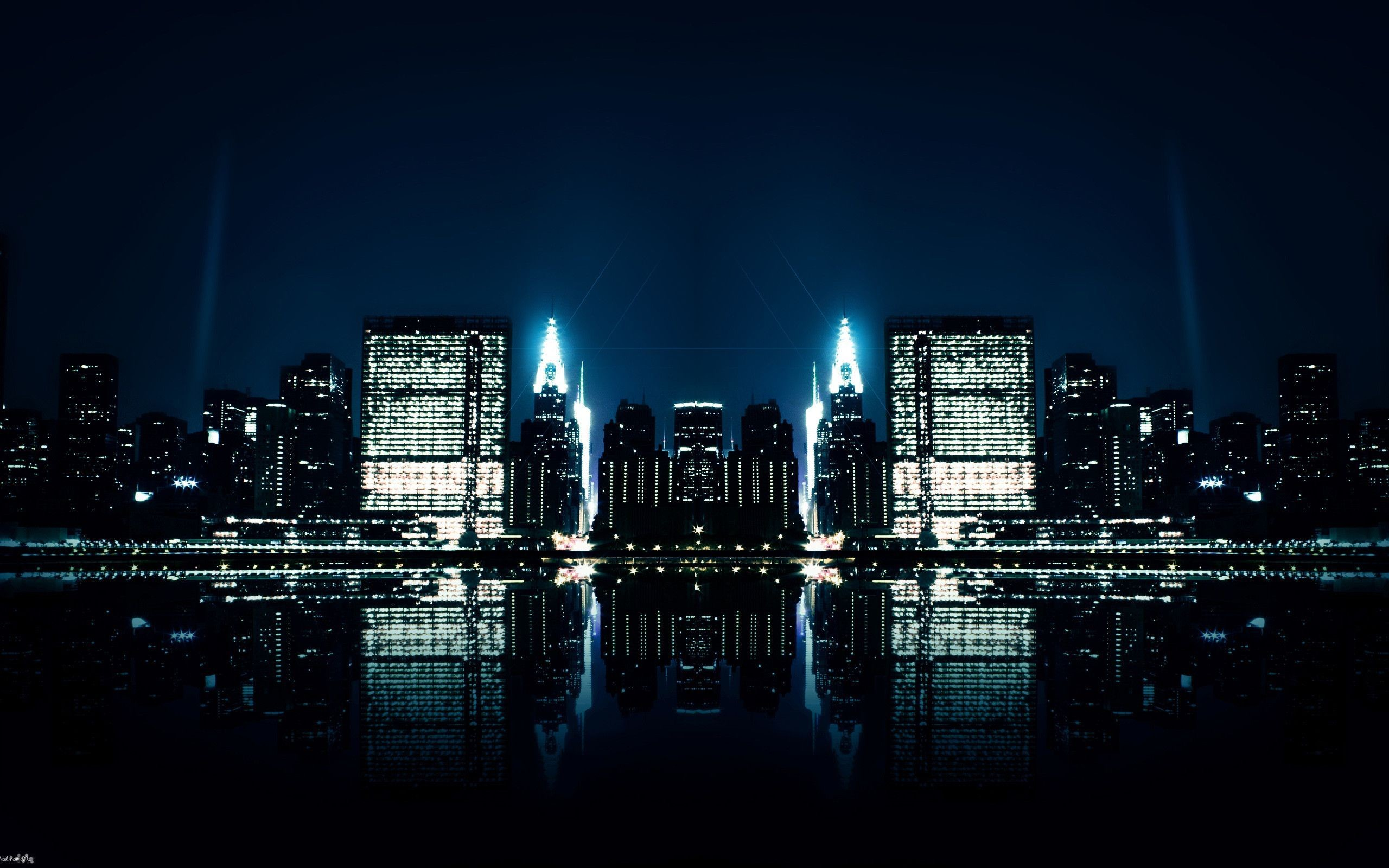 HD Wallpaper Night City