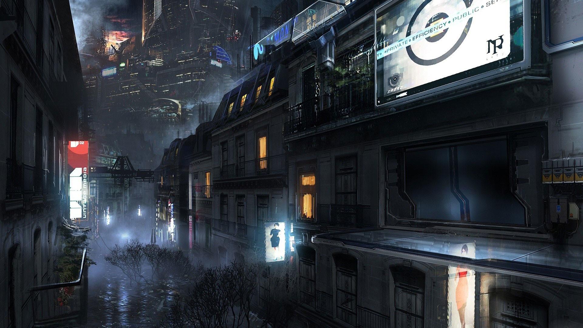 Futuristic City Wallpaper 32