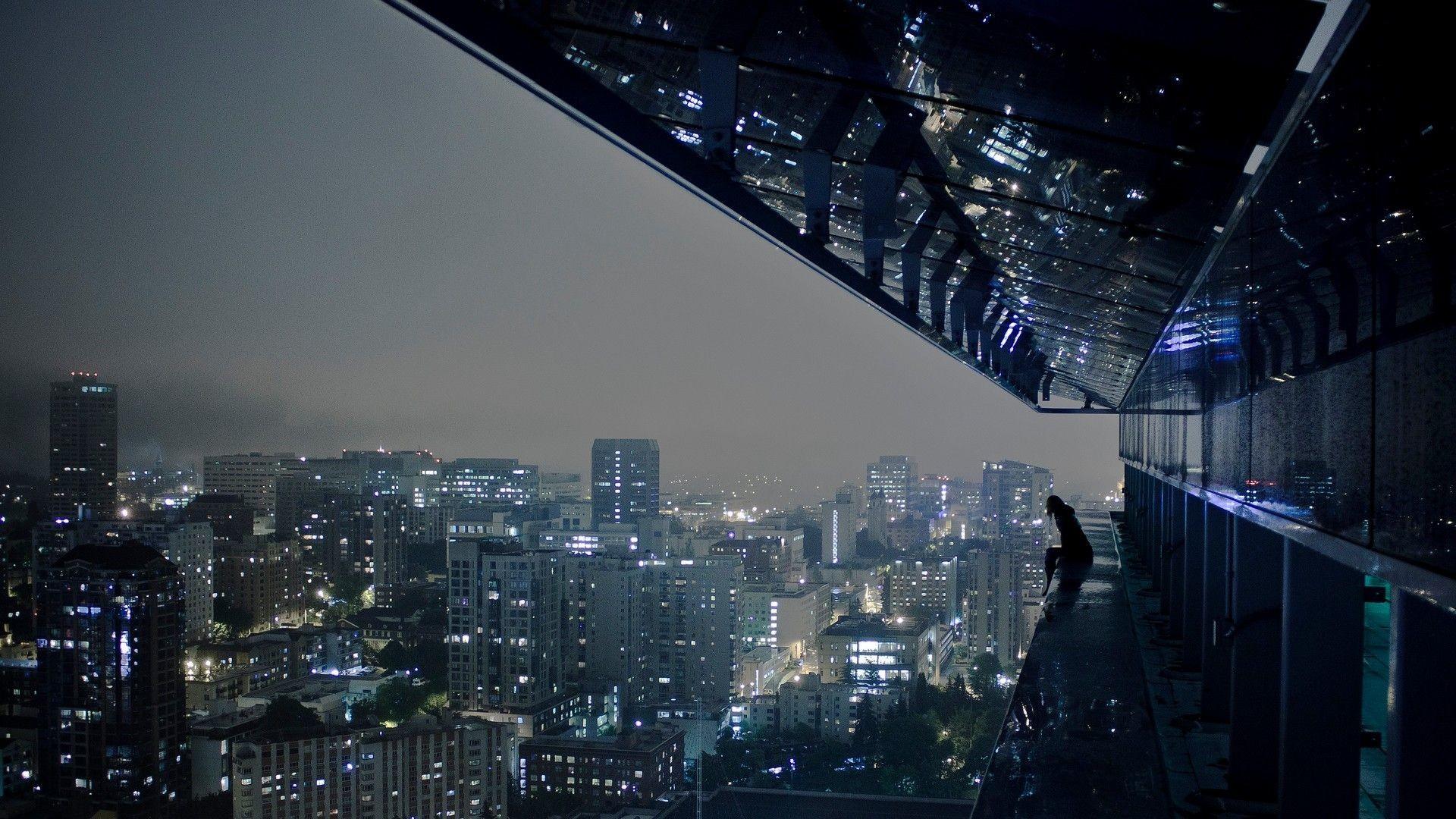 City Night Lights HD Wallpaper » FullHDWpp – Full HD Wallpapers .