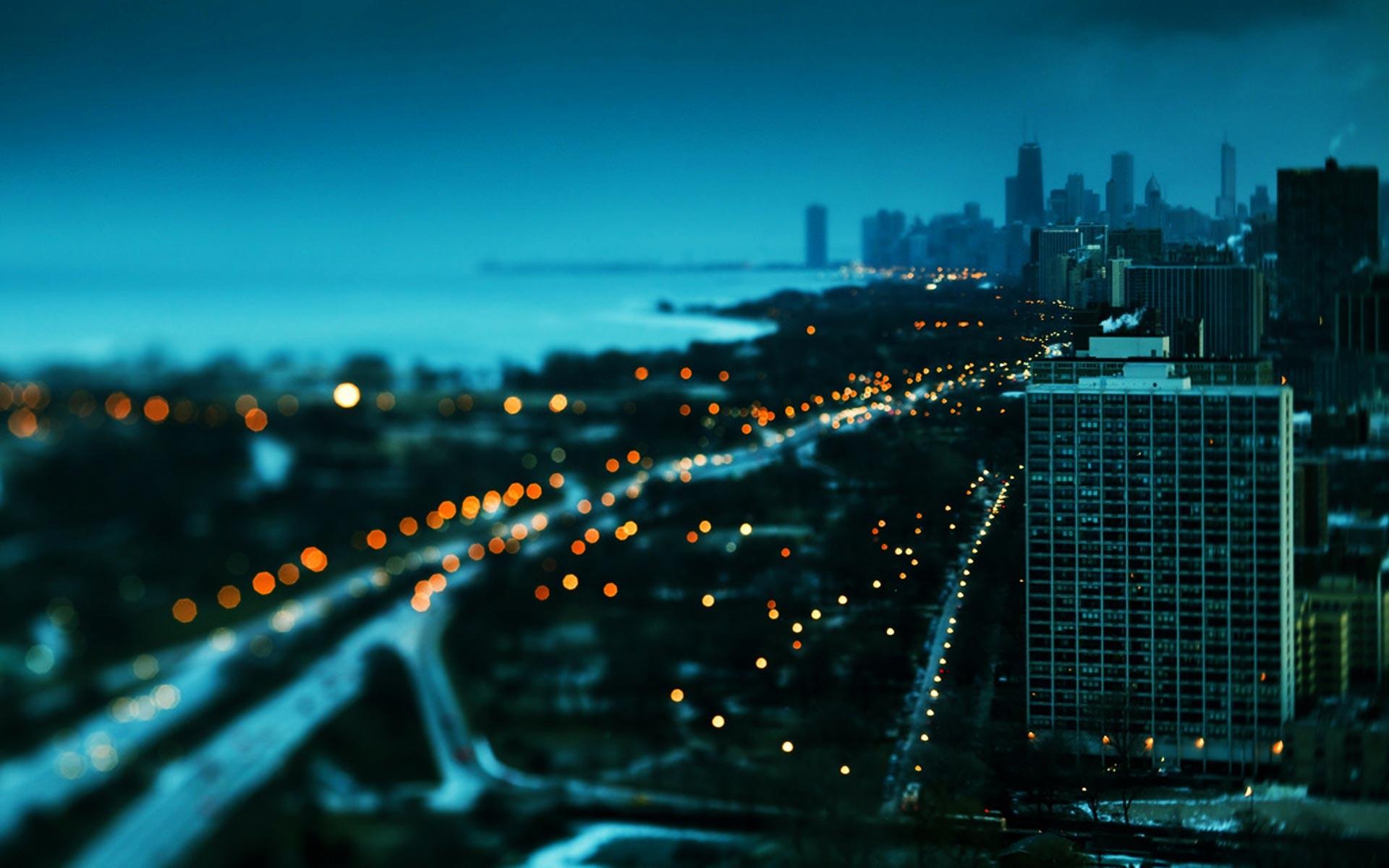 City At Night Wallpaper Free HD