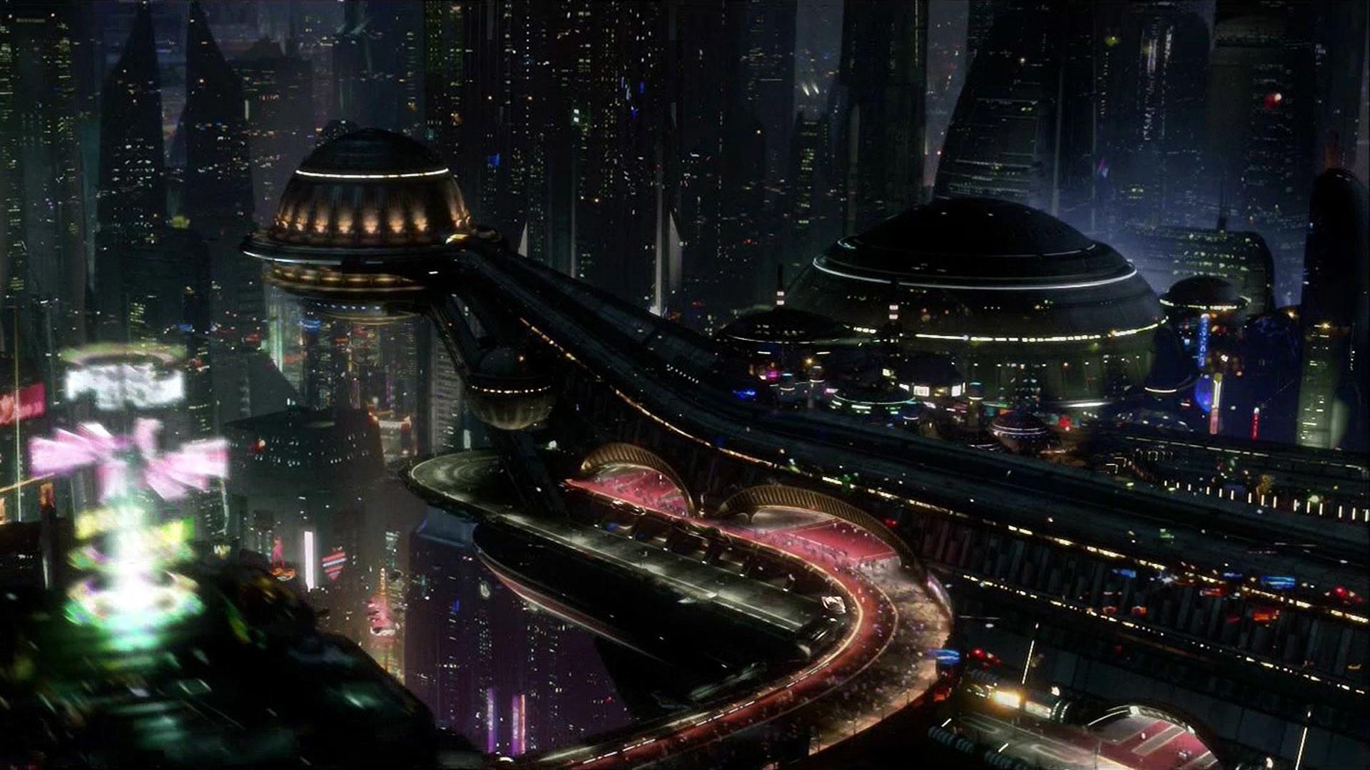 Futuristic City Wallpaper 22