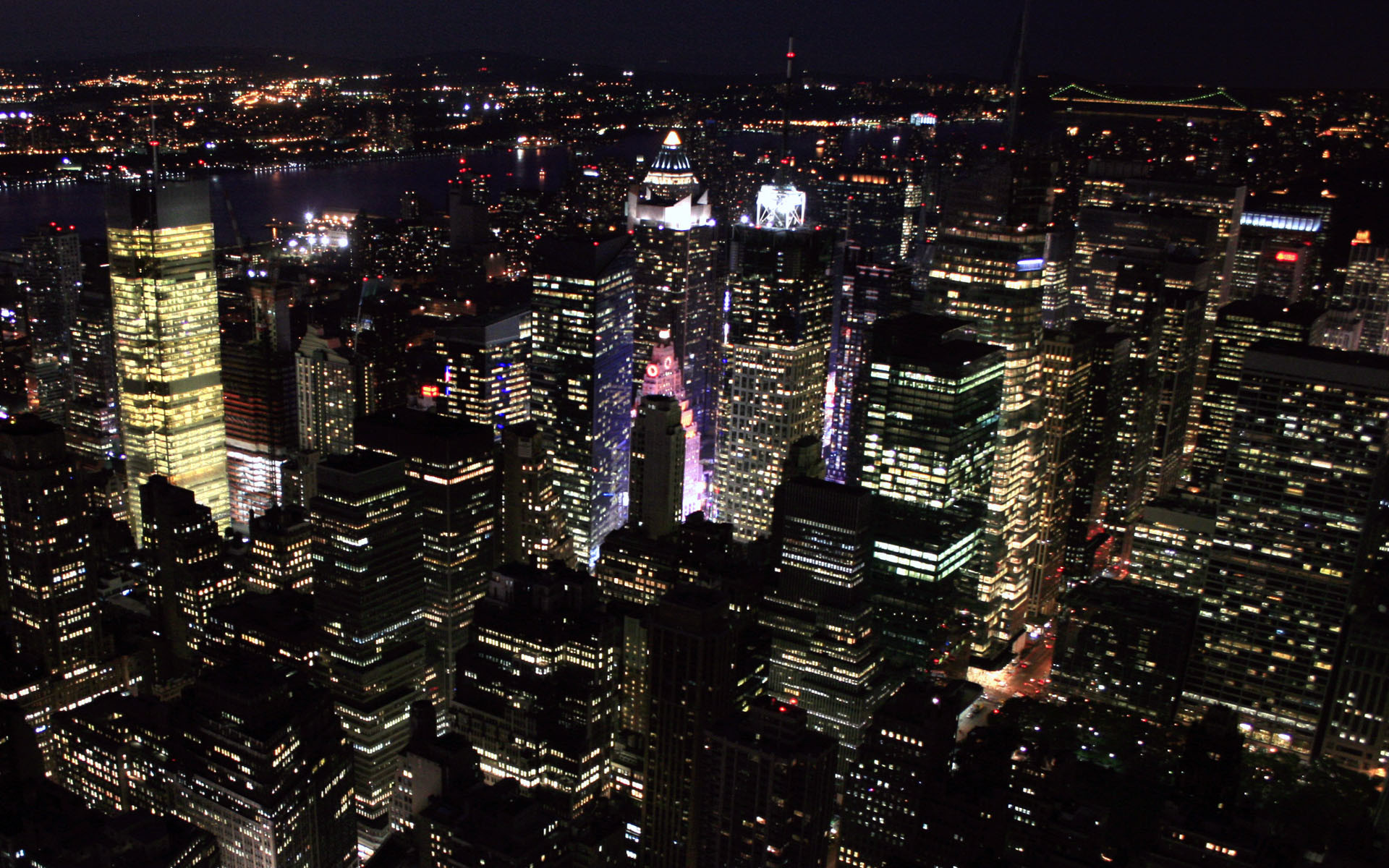 New York City At Night Wallpaper