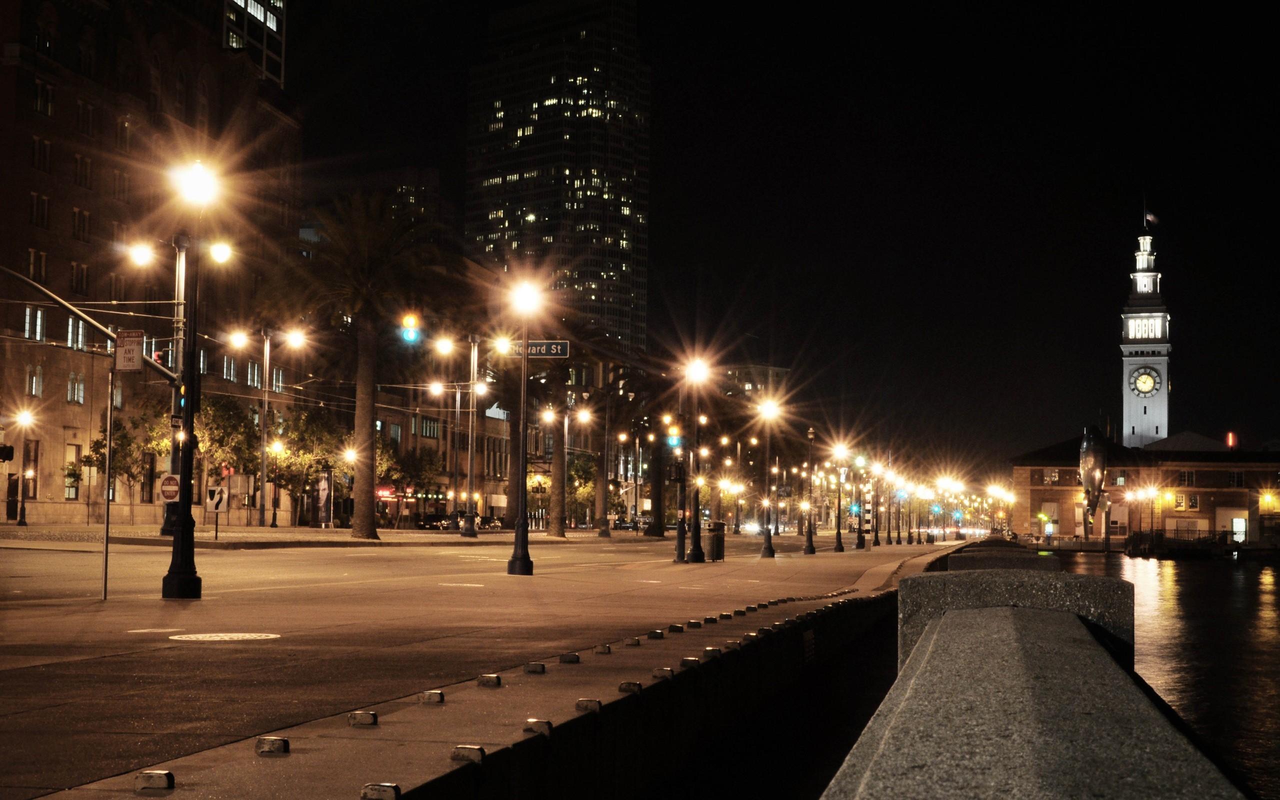 City Street Night Wallpaper 2014 HD   I HD Images