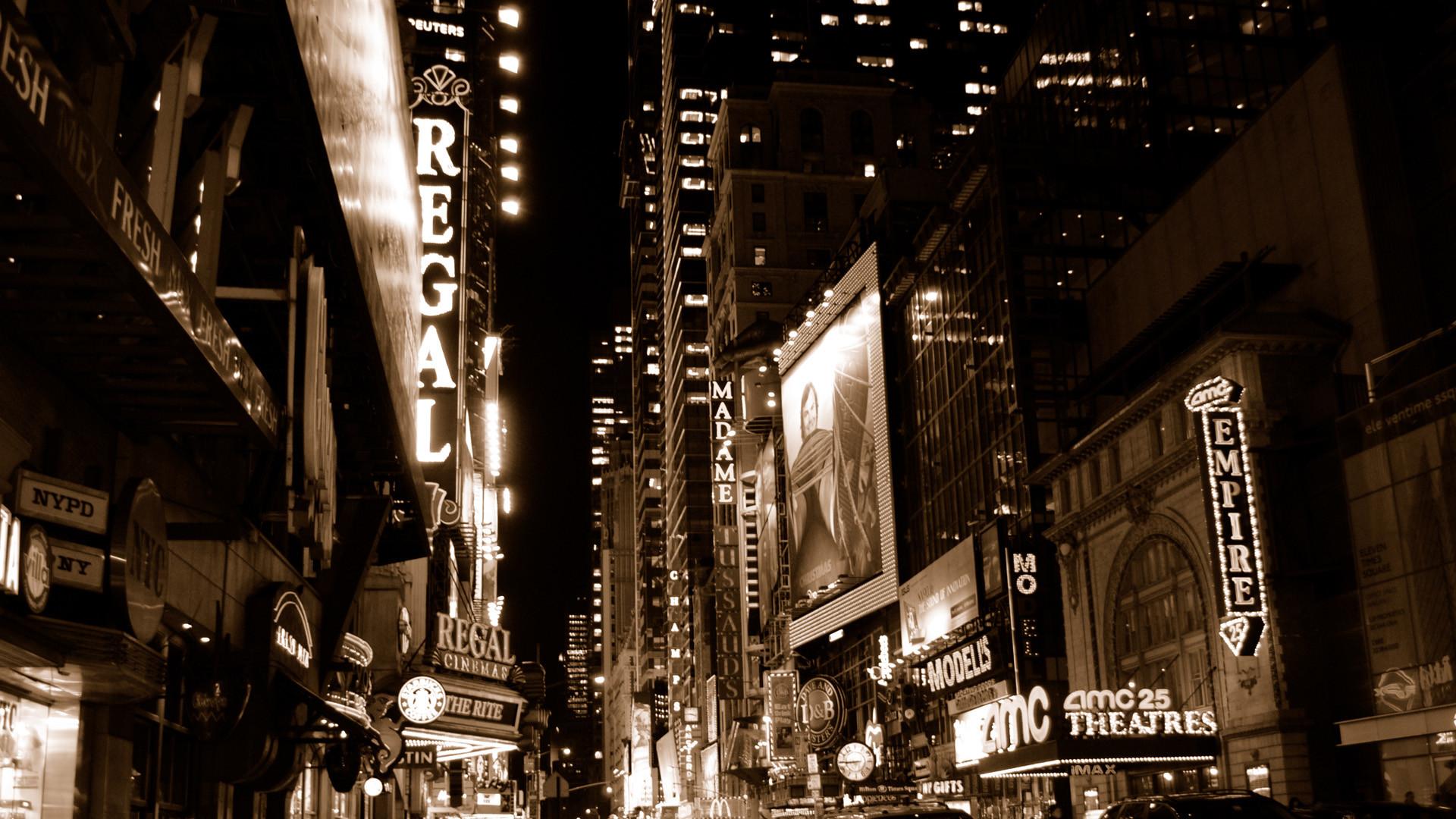 New York City Street HD wallpaper