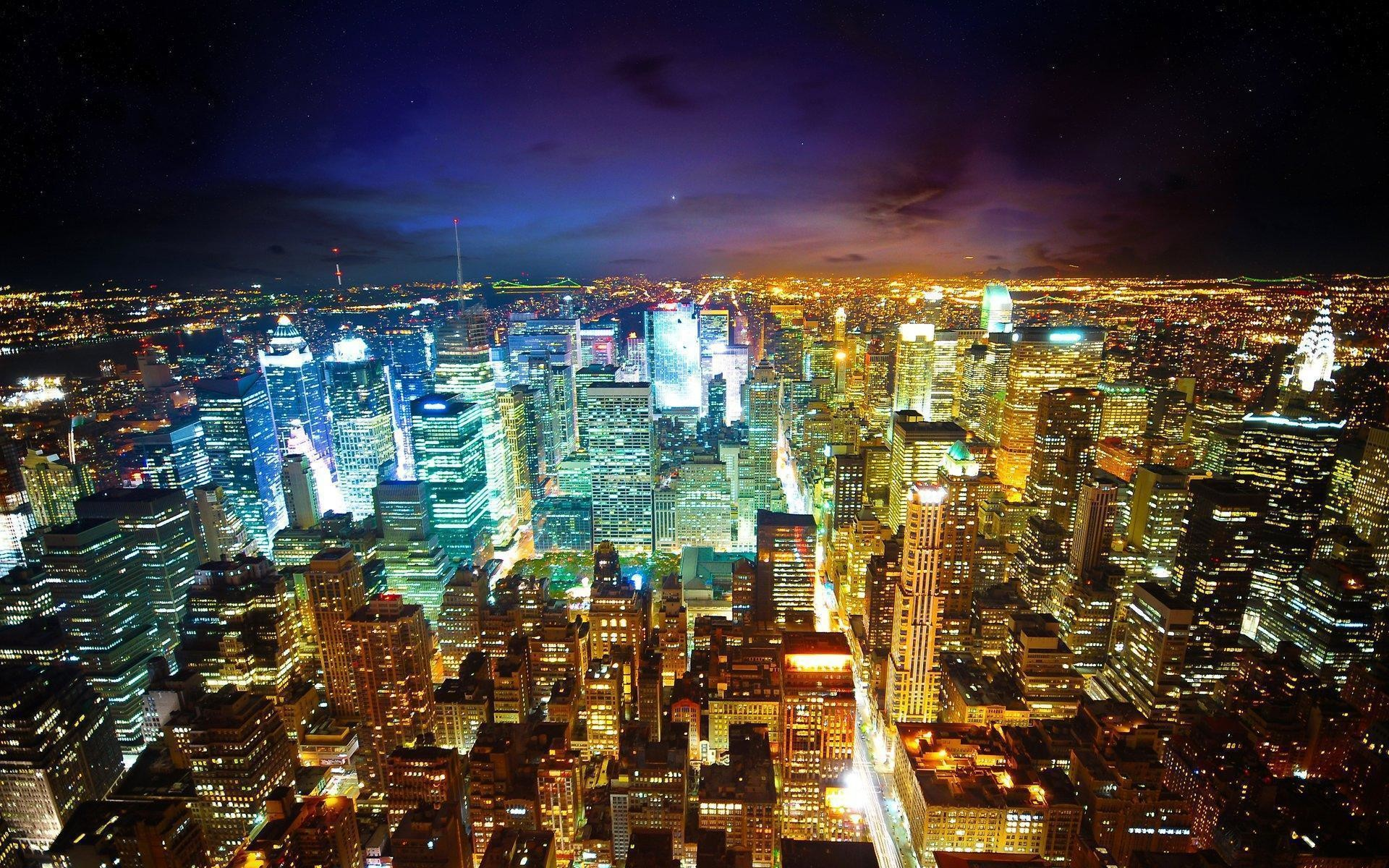 <b>City</b> Street <b>Night HD desktop wallpaper