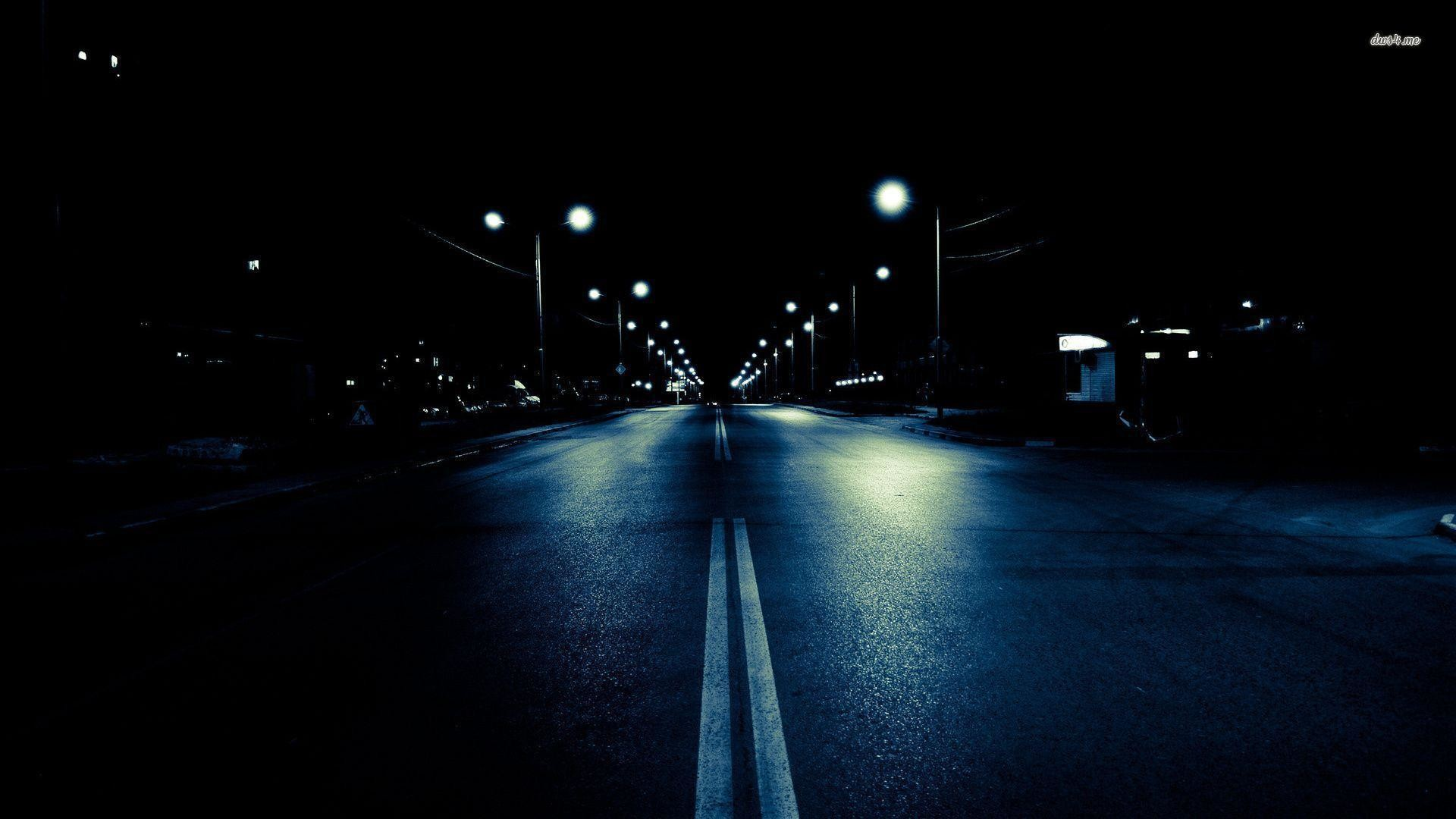 Street Wallpaper HD Night City – WallpaperSafari