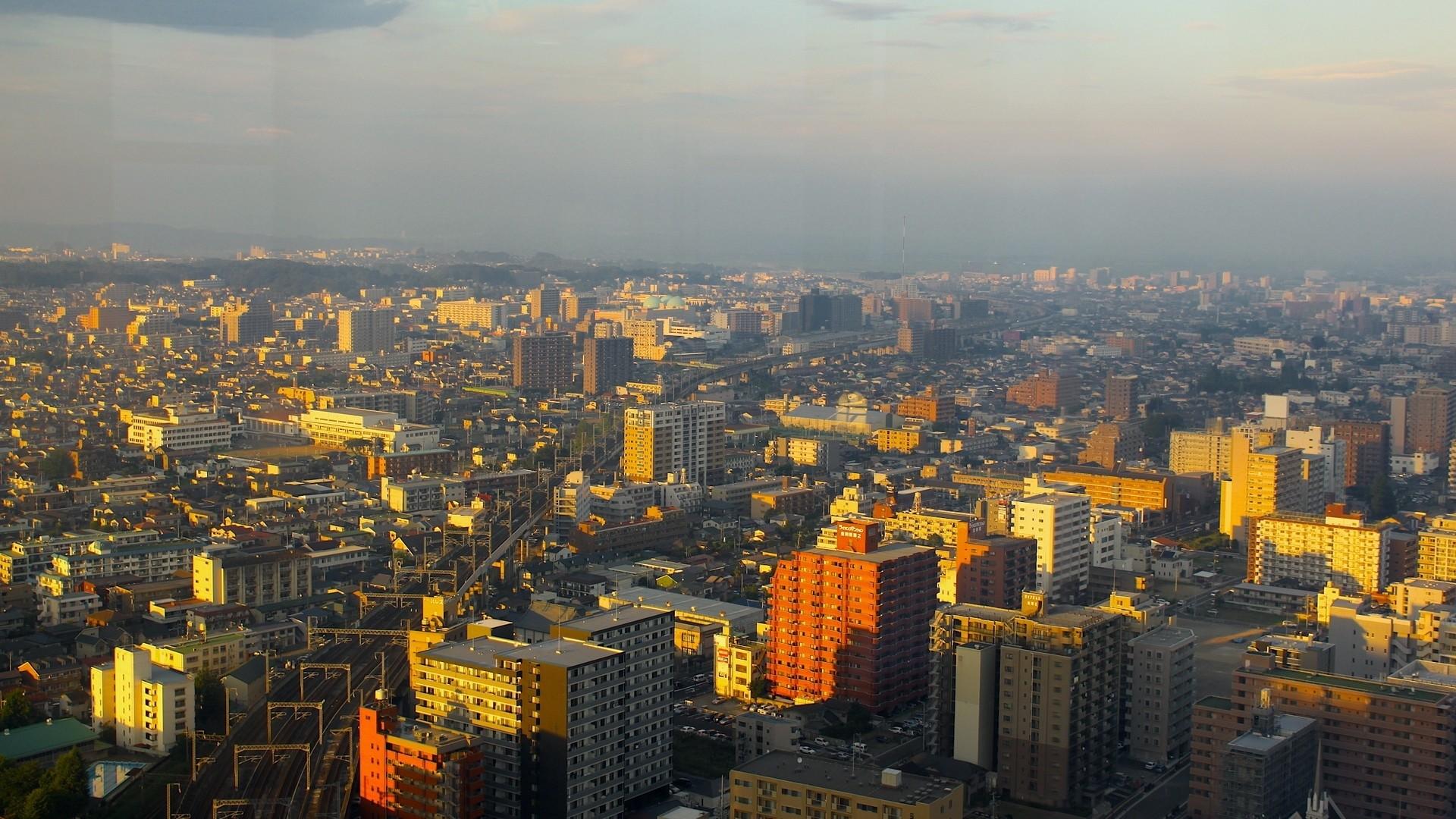 Preview wallpaper tokyo, buildings, skyscrapers, city 1920×1080