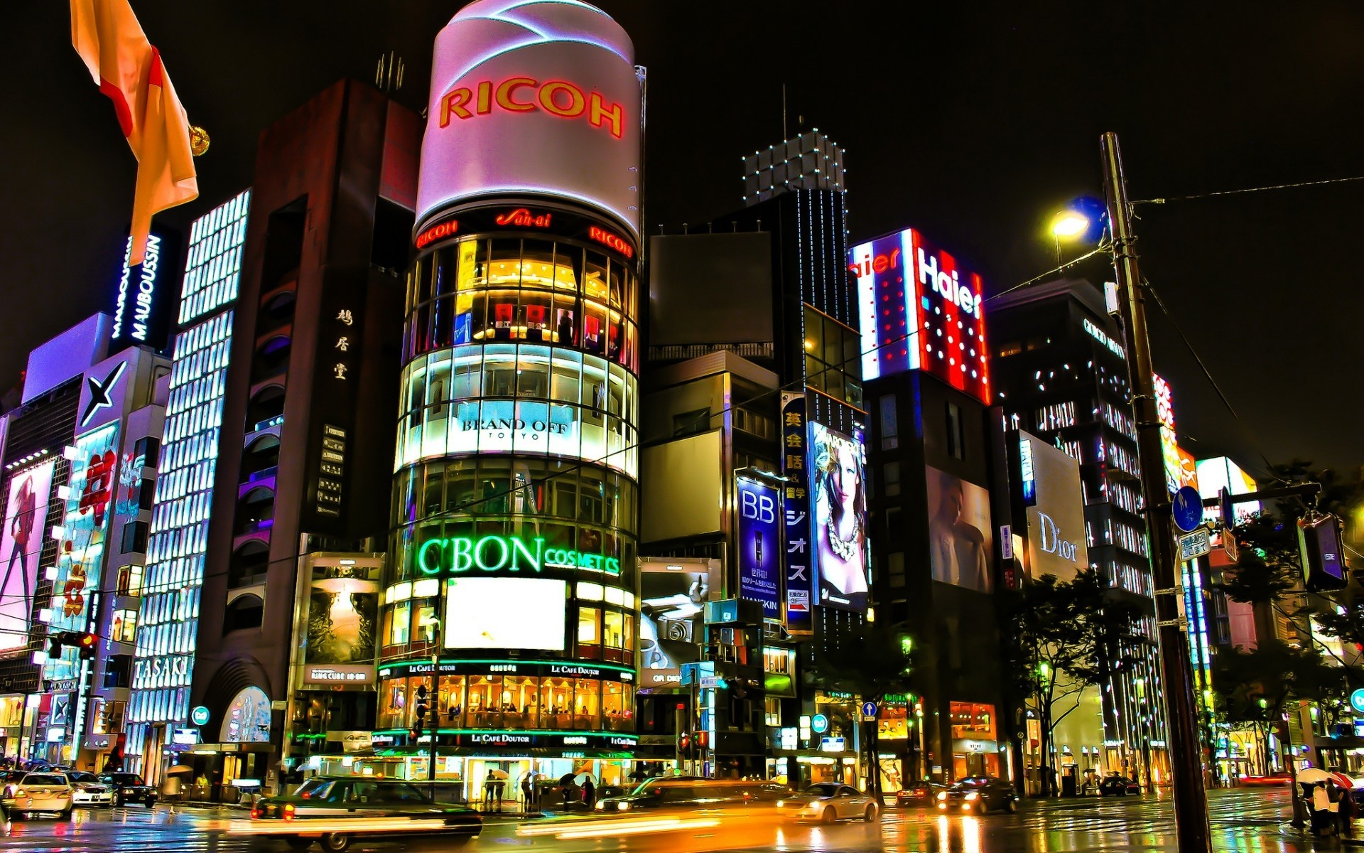 Tokyo Night Wallpapers Wide As Wallpaper HD