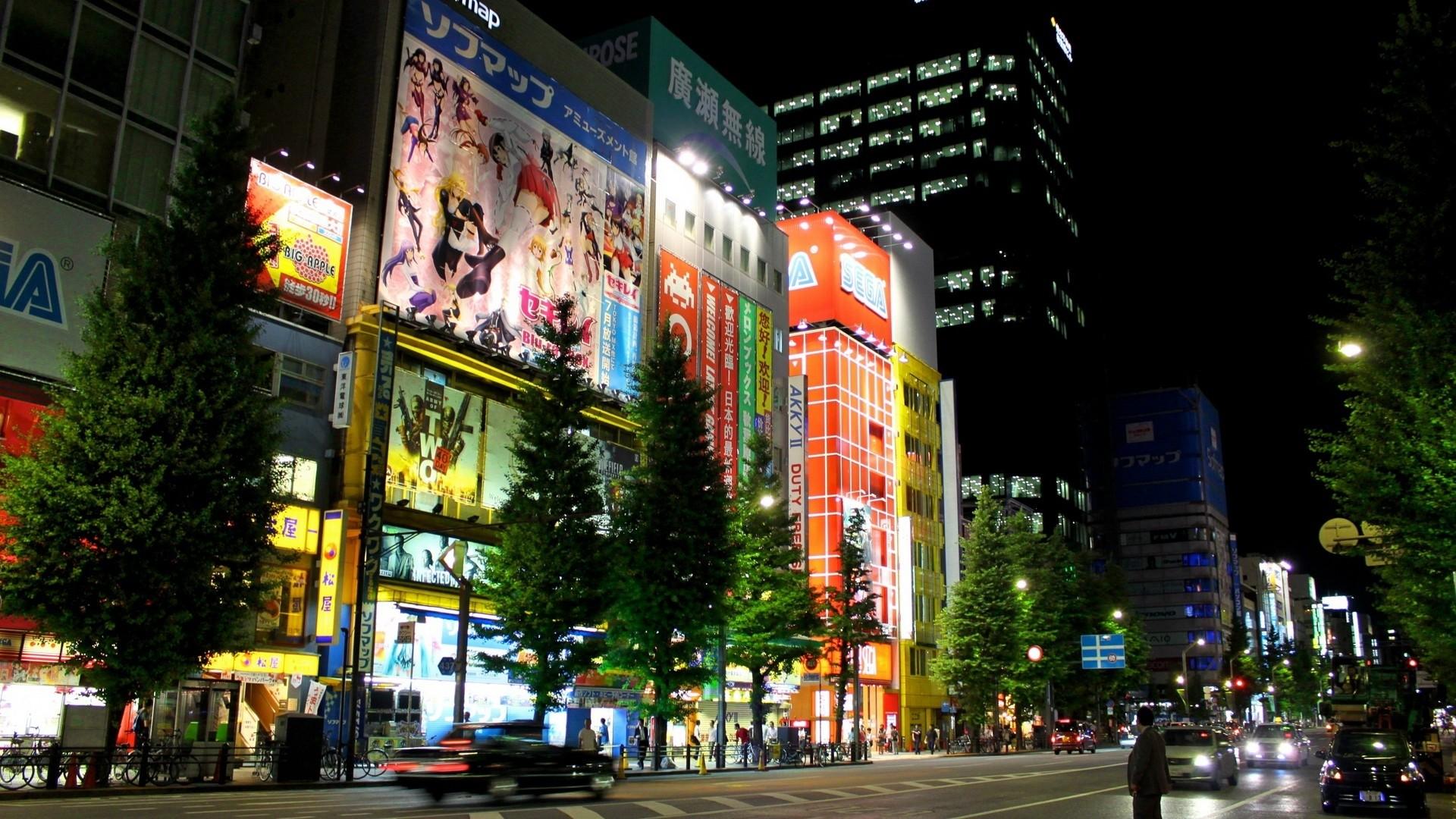 … the capital · japan, tokyo, evening