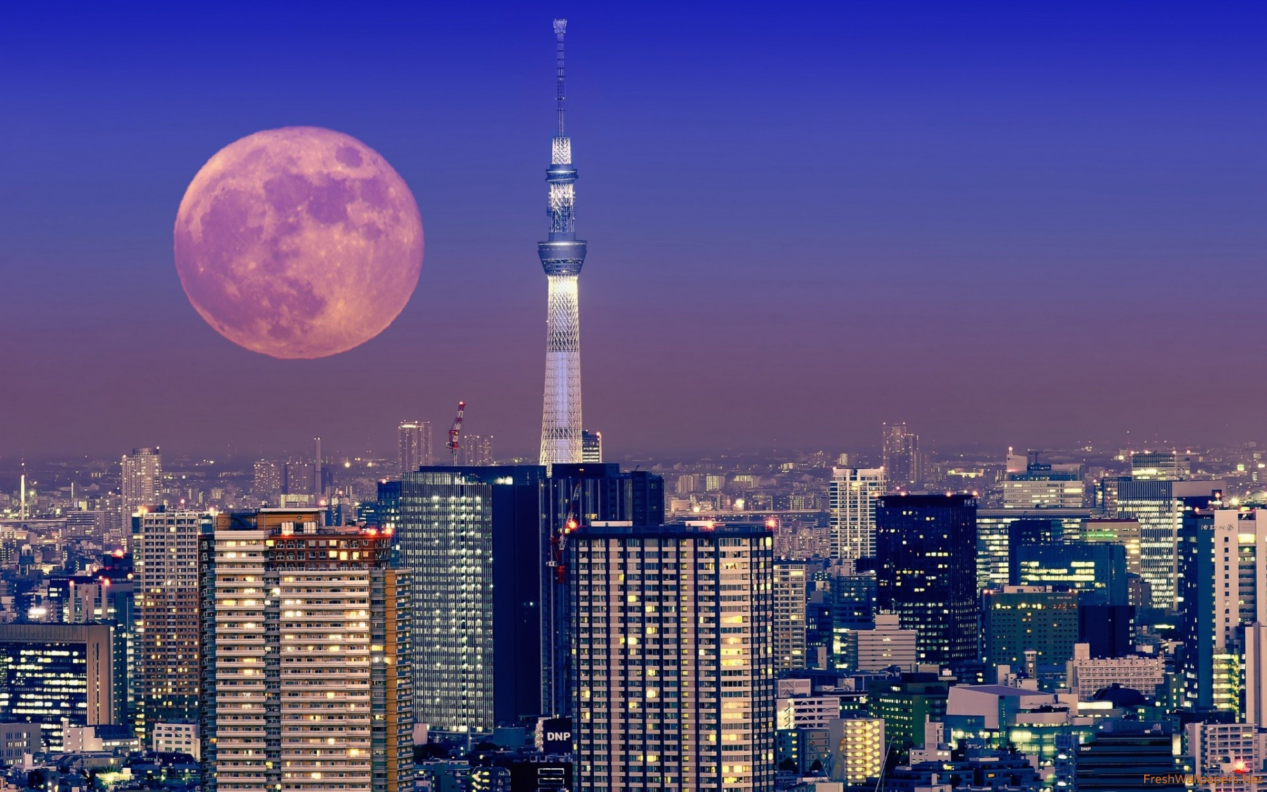 Tokyo Skyline Wallpapers Phone As Wallpaper HD