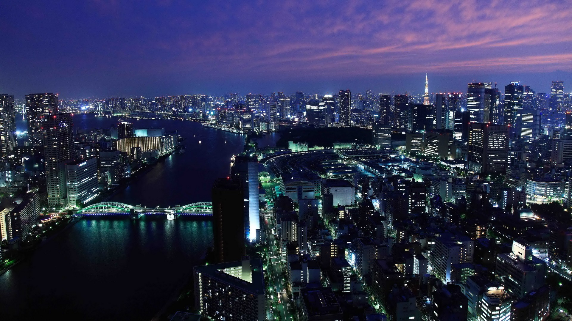 Tokyo Skyline Wallpapers Images As Wallpaper HD