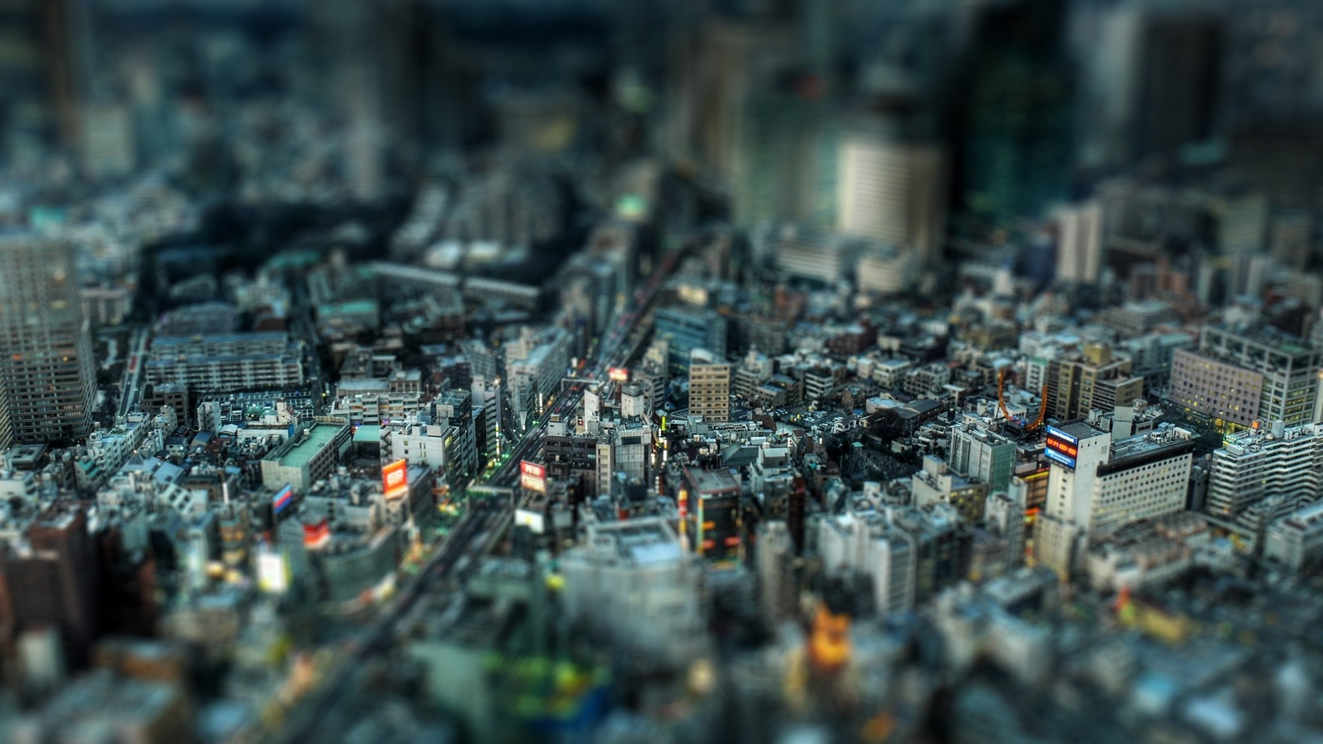 building, Blurred, Tokyo, Cityscape, Japan Wallpapers HD / Desktop and  Mobile Backgrounds