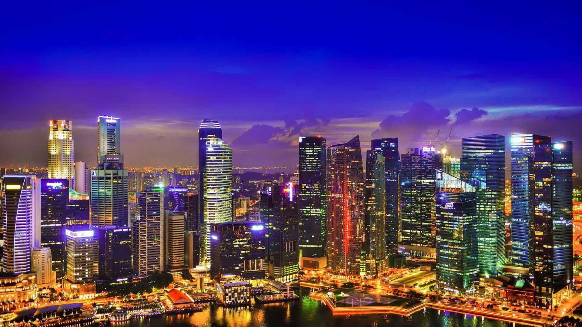 Cool City Wallpapers – city awesome singapore at night wallpaper cool pc  singapore city hd wallpaper