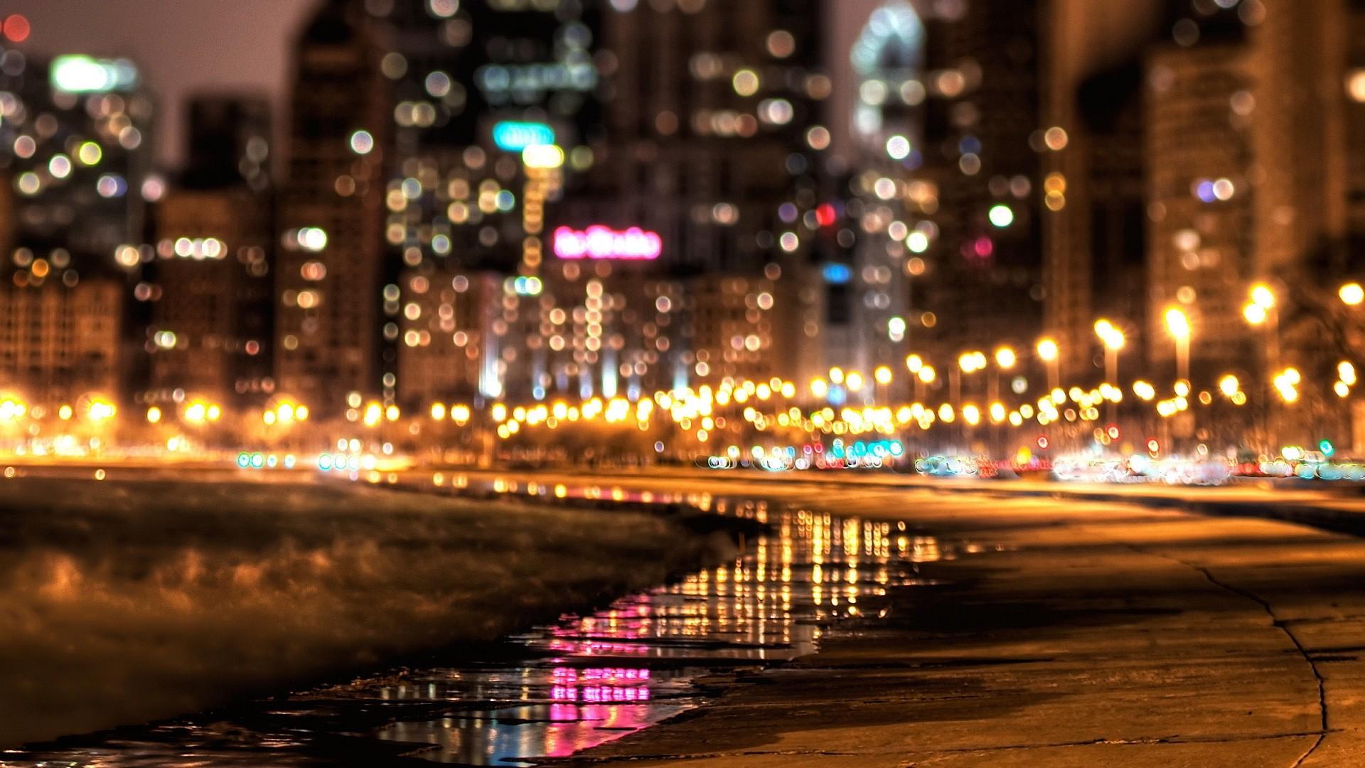 Cool City Lights Wallpaper