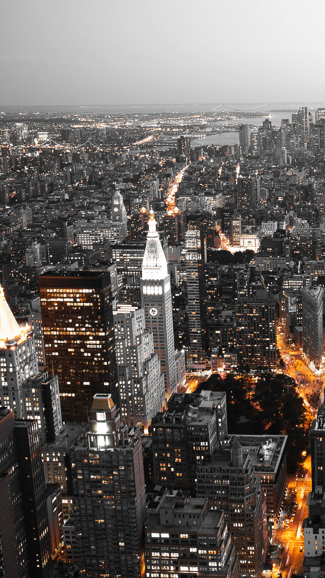Cool City Lights Android Wallpaper …