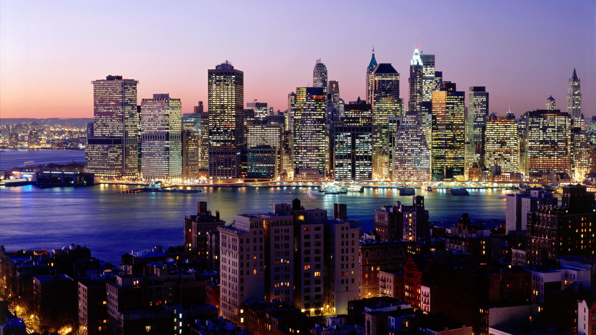 Download Background – Twilight Sky, New York City, New York – Free Cool  Backgrounds and Wallpapers for your Desktop Or Laptop.