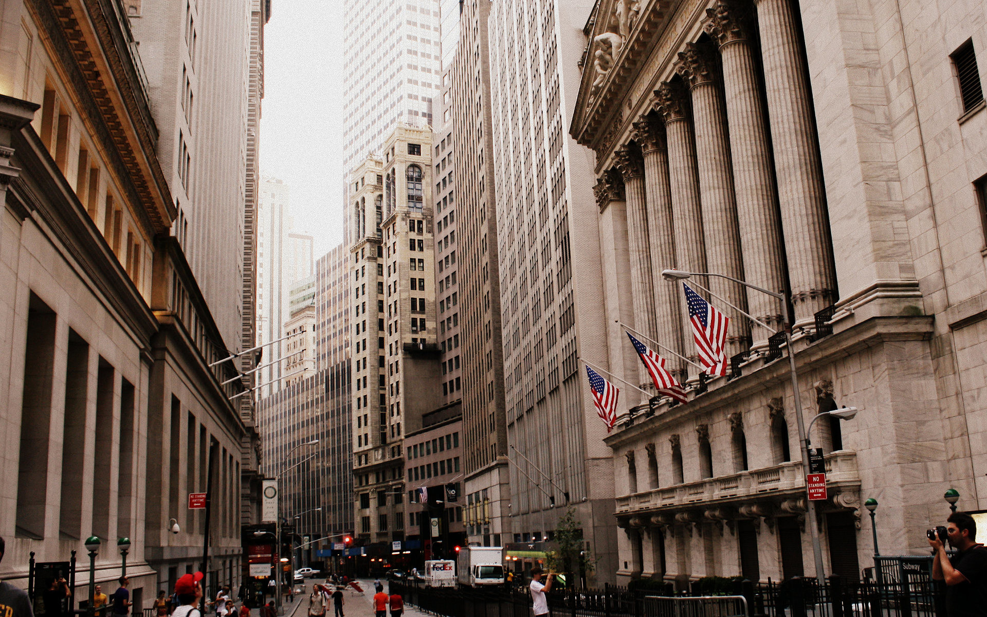 Theme Bin» Blog Archive » Wall Street HD Wallpaper