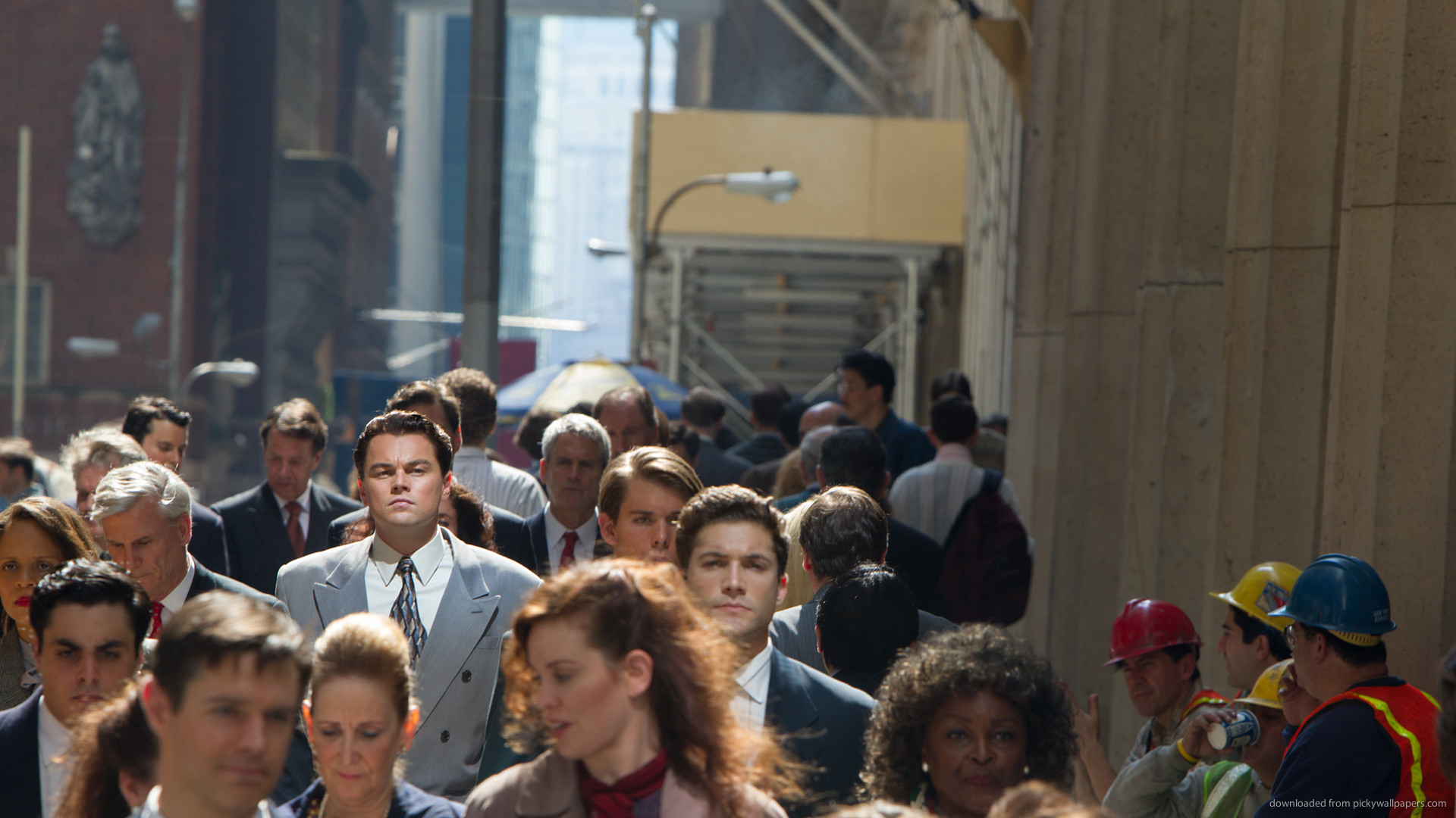 The Wolf Of Wall Street Face In The Crowd for 1920×1080