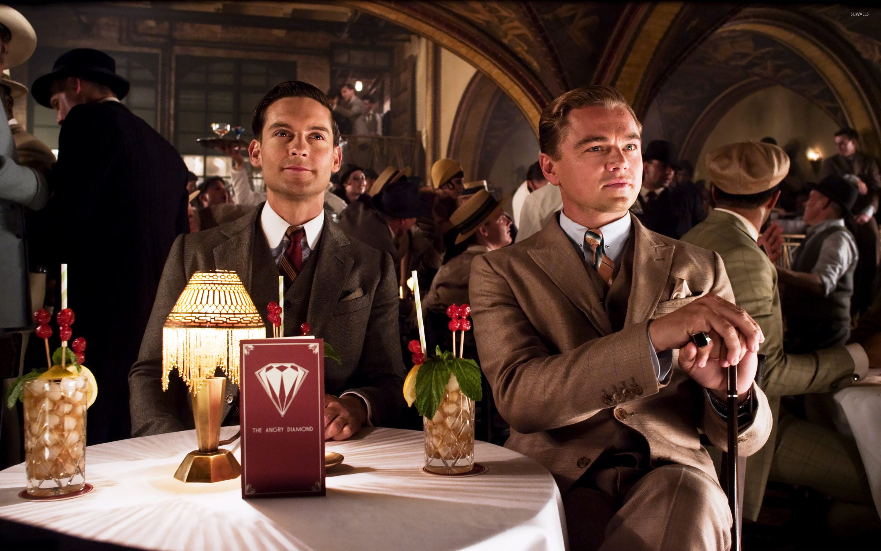 Nick Carraway and Jay Gatsby – The Great Gatsby wallpaper jpg
