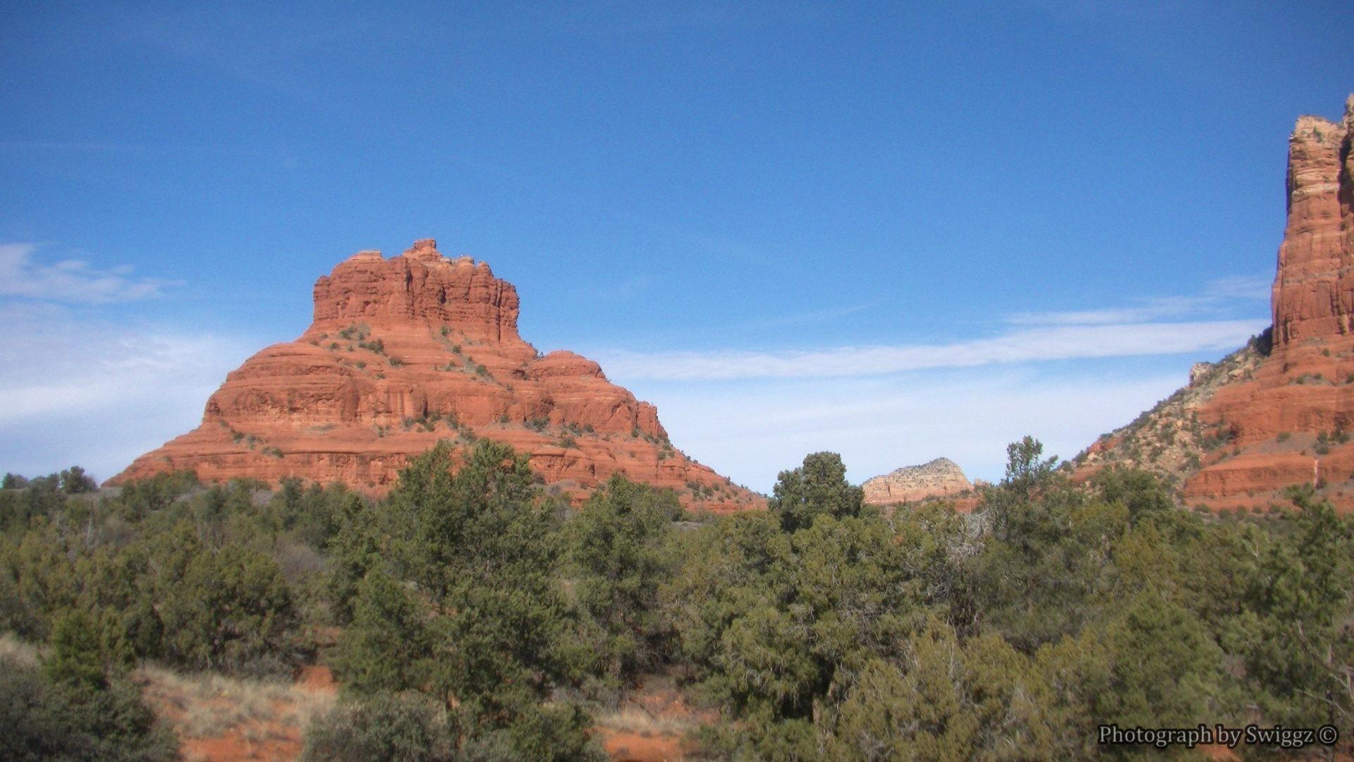 Desert – Bell Rock Sedona Arizona Nature Desert Sky Pictures For Desktop  for HD 16: