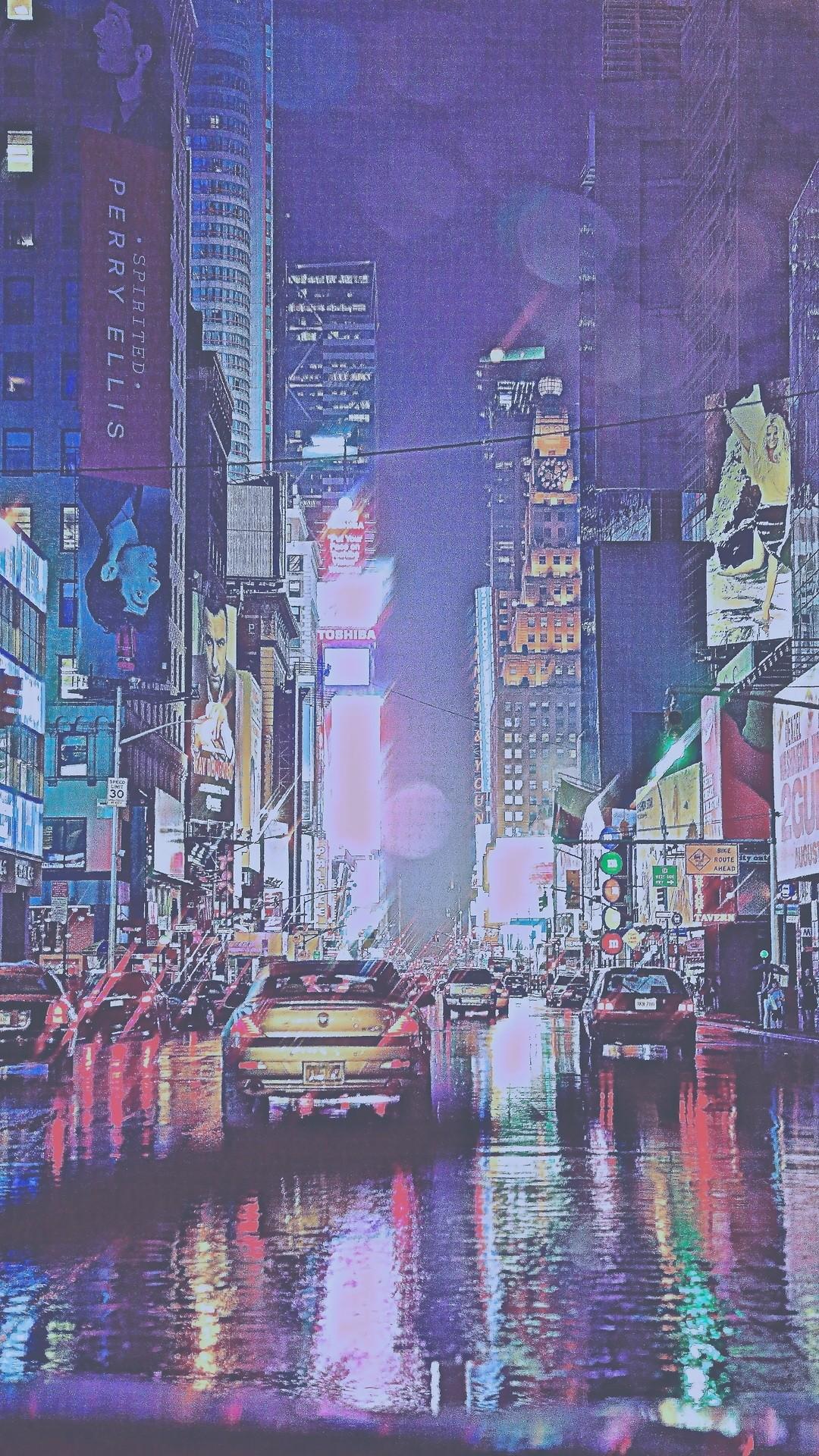 photography art vintage dream cars NYC city rain Magic new york new york  city cityscape dreaming colorfull NY Manhattan david magical newyor.
