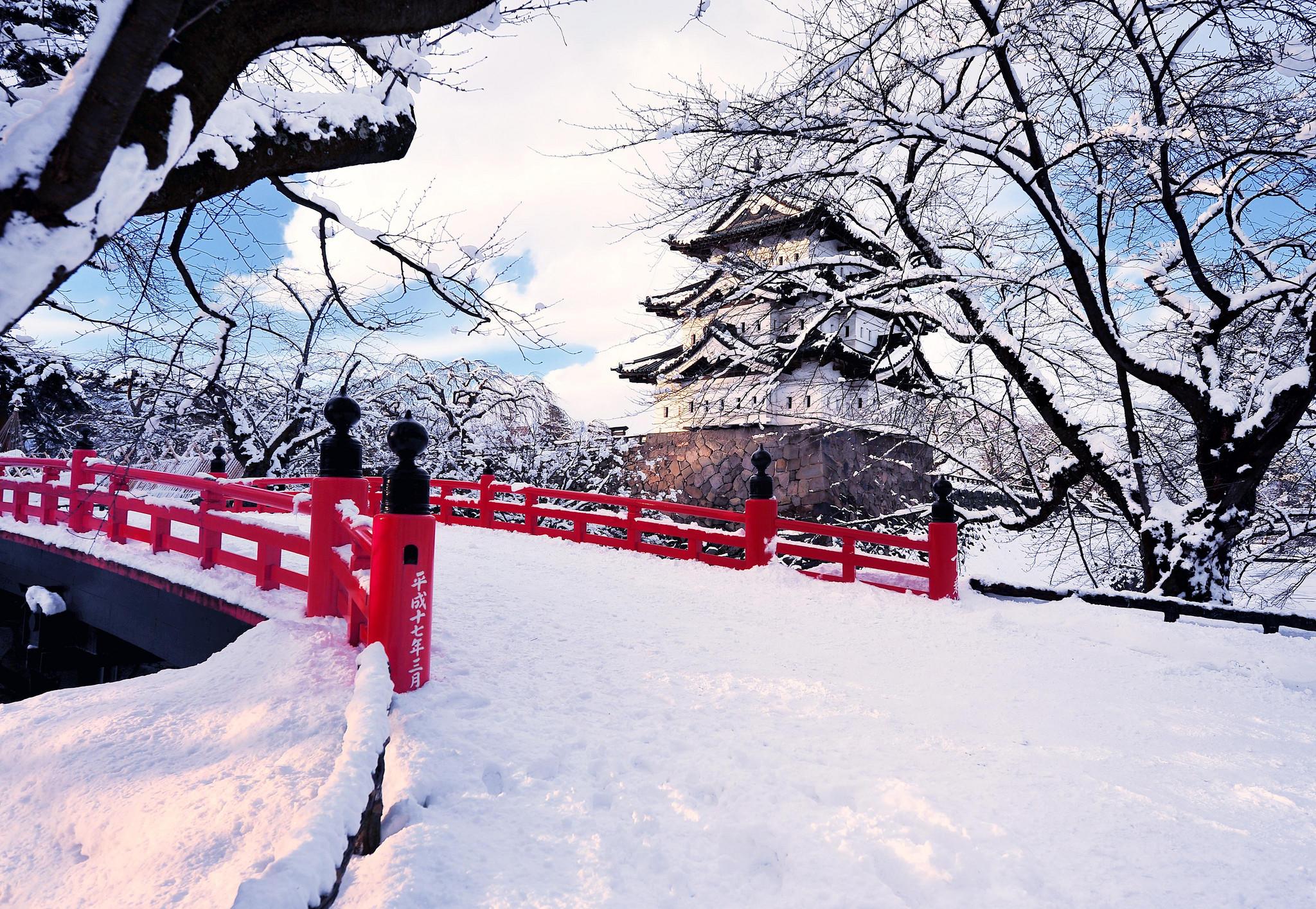 Winter City Photography Wallpaper Free HD