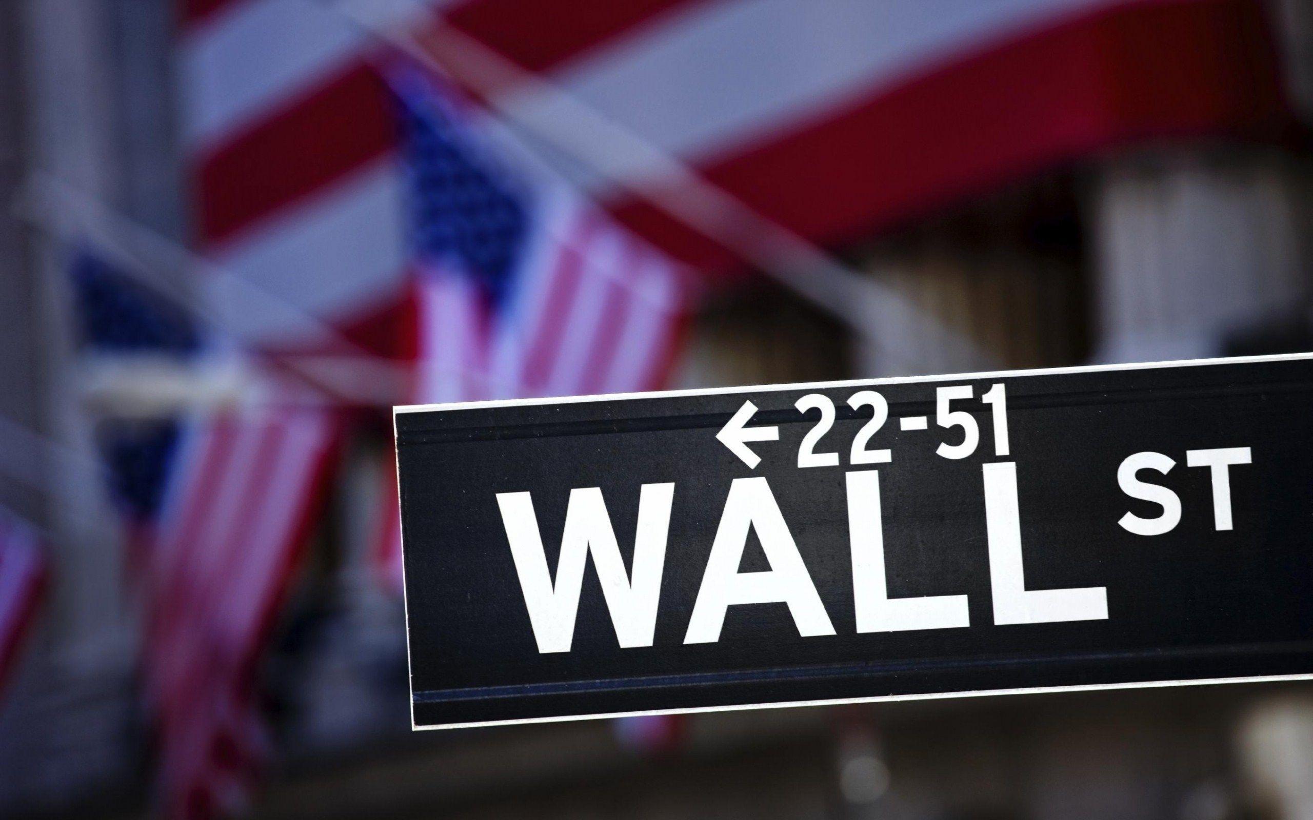 Wall Street Wallpaper