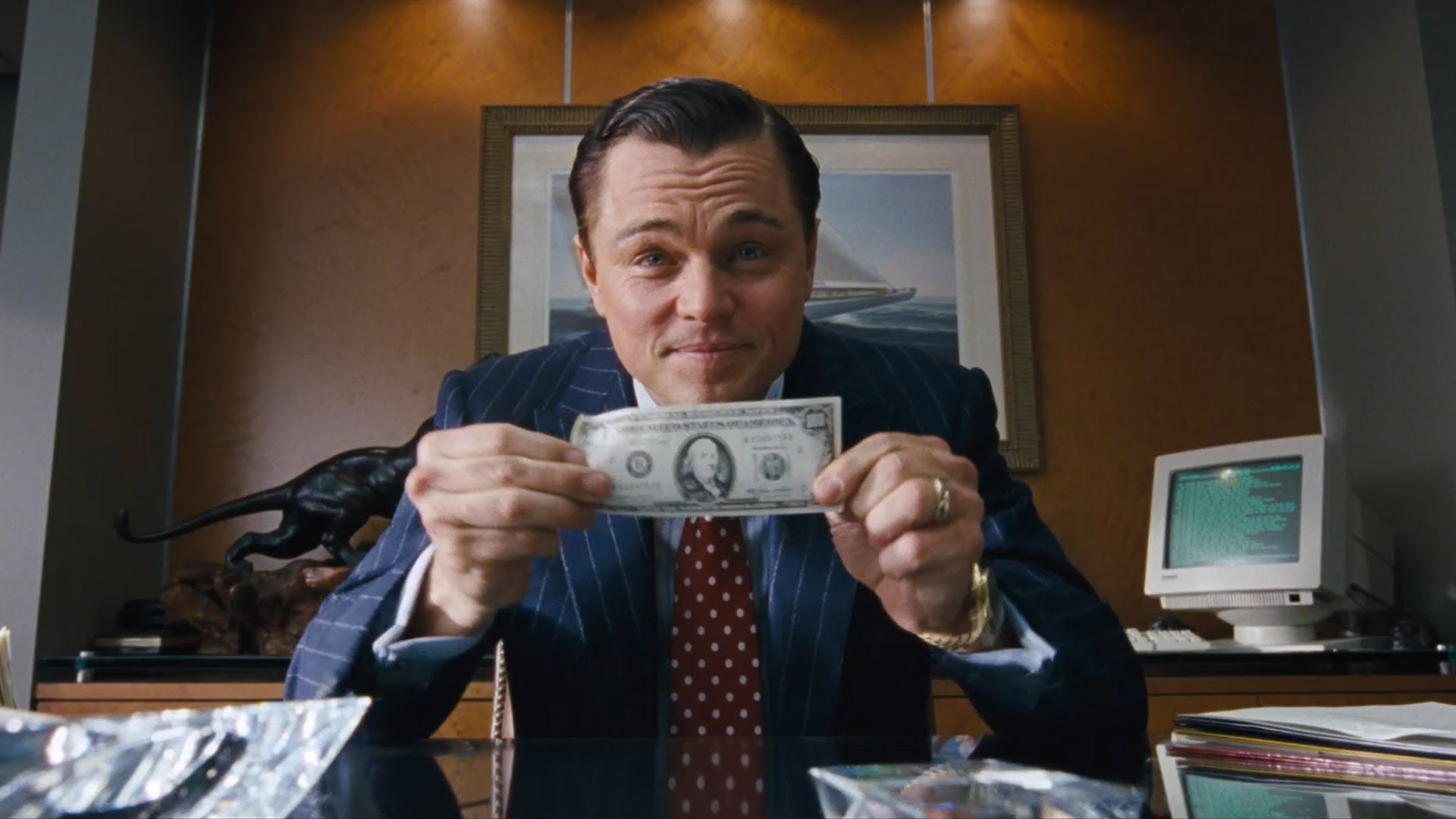 … The Wolf Of Wall Street Wallpaper