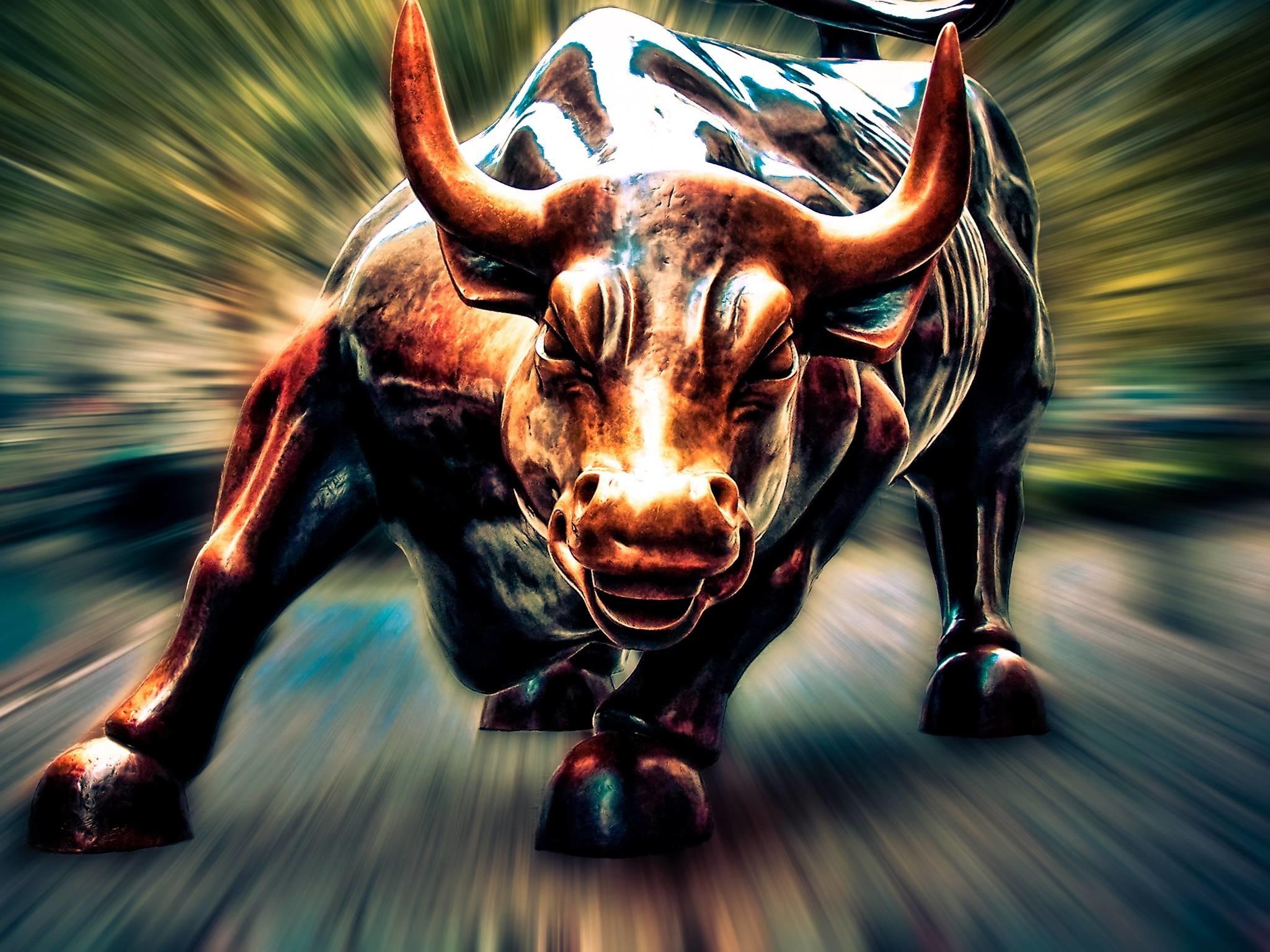 Wall Street Bull Wallpaper