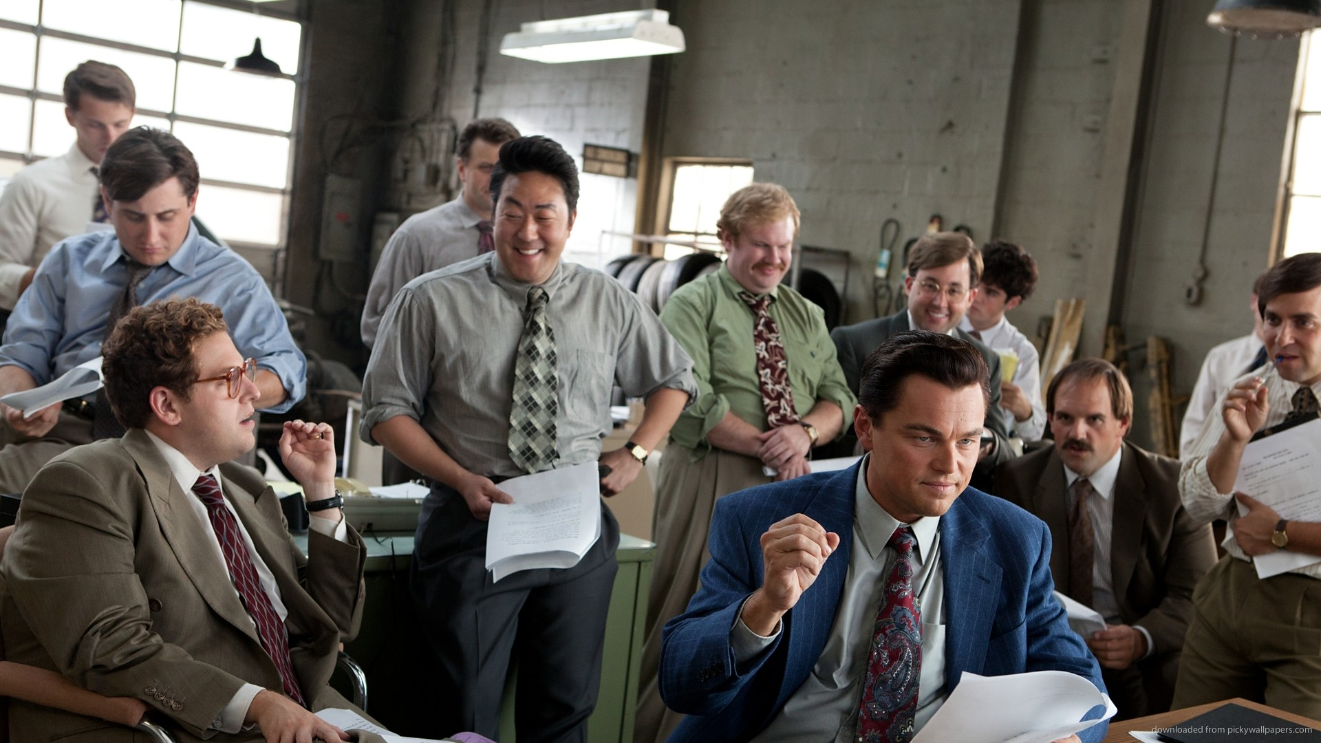 The Wolf of Wall Street Gang for 1920×1080