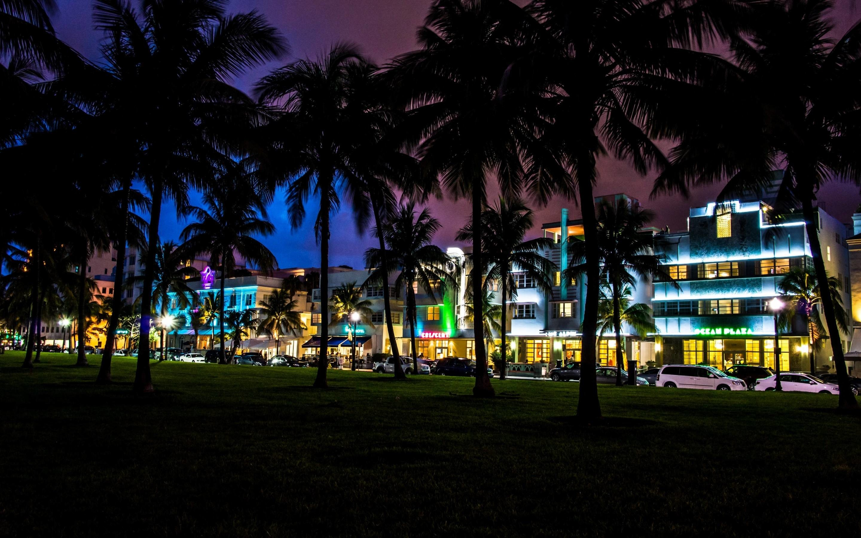 Miami Night wallpaper – 1102428