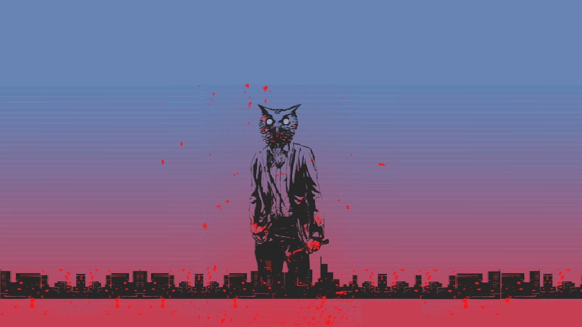 Hotline Miami Wallpapers 1366×768 by Laura Robson #12