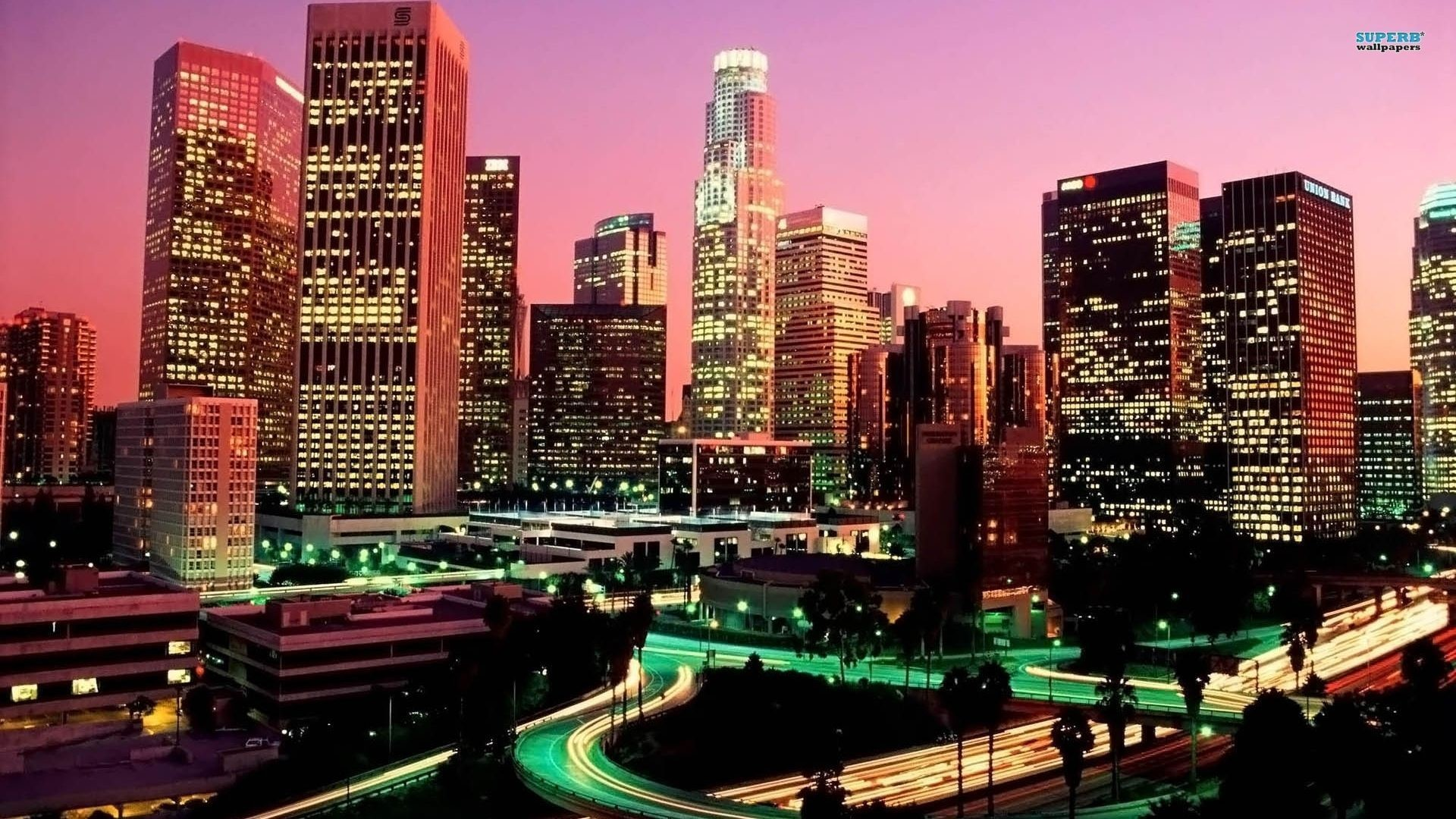 Los Angeles wallpaper – World wallpapers – #4161