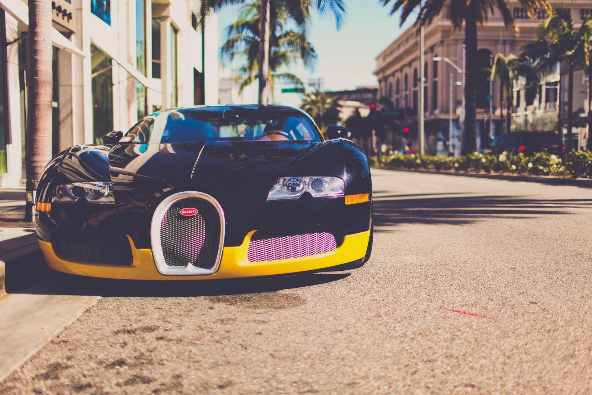 bugatti veyron town los angeles california