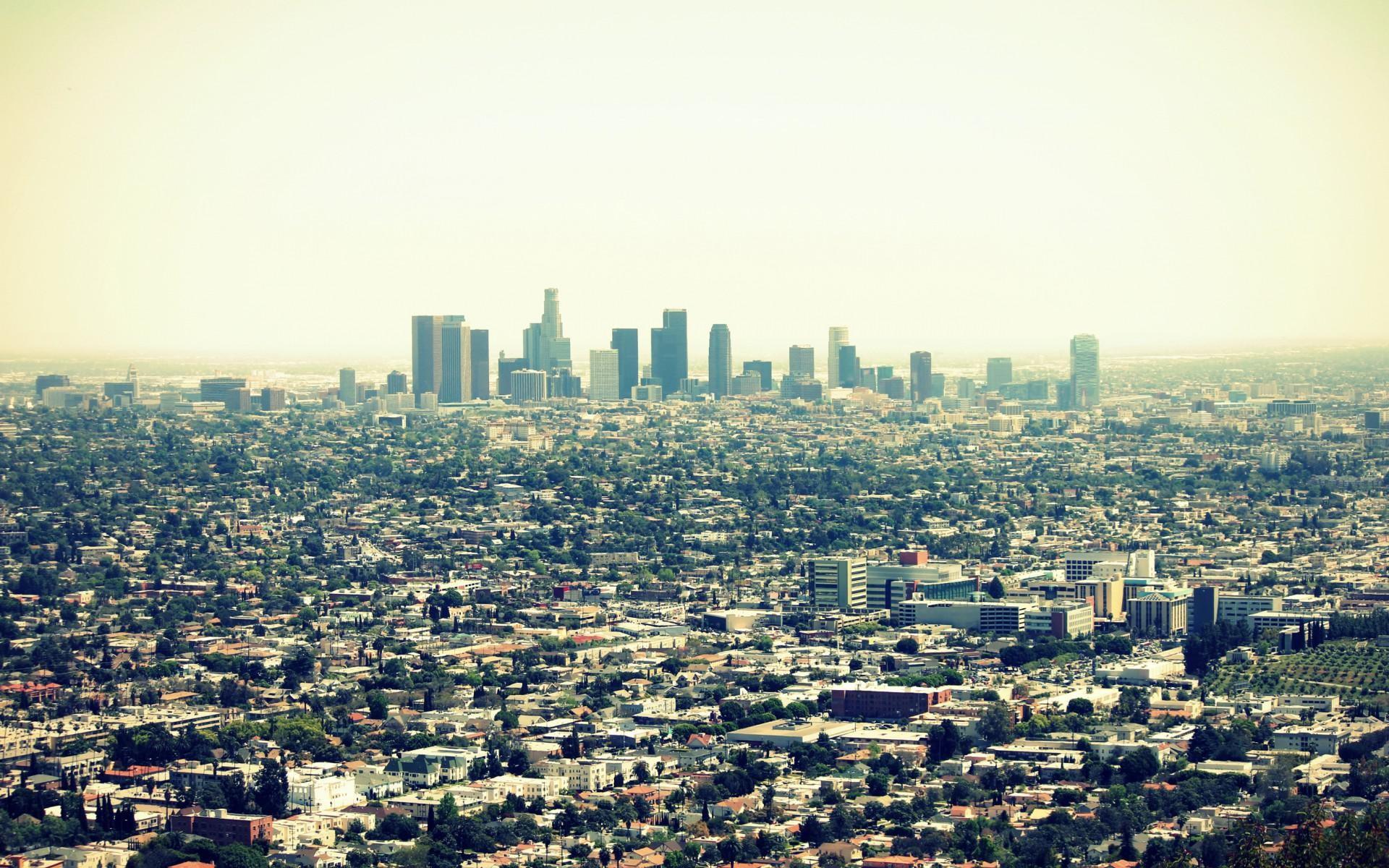 Usa California Los Angeles Cities Buildings Skyscraper Free wallpaper thumb