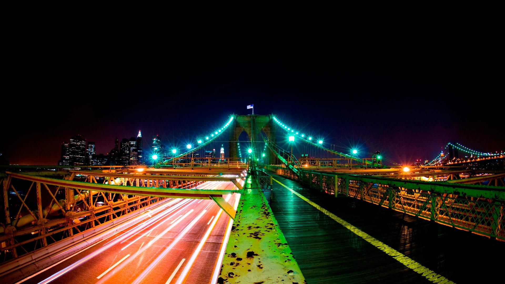 hd pics photos stunning city night view lights bridge hd quality desktop  background wallpaper