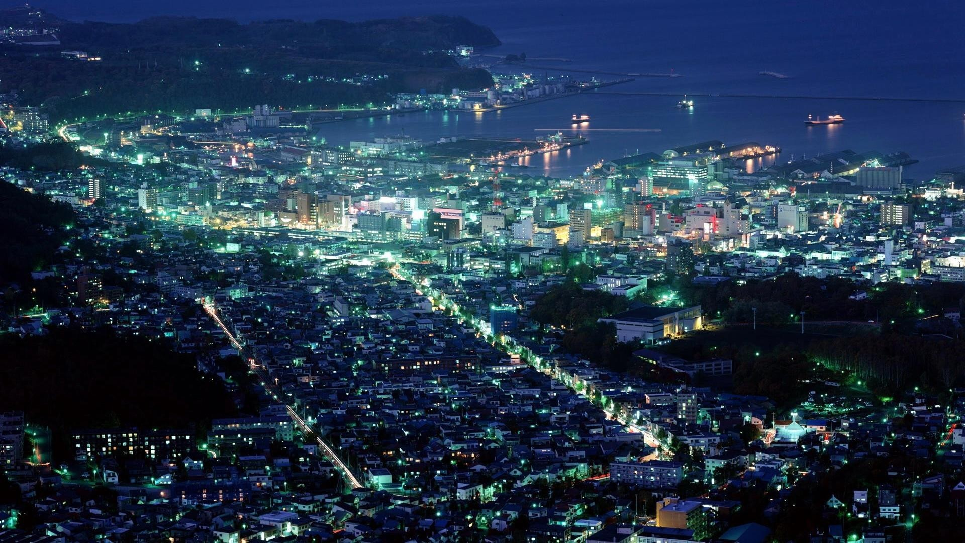 Night City Wallpaper Night, City, Lights, Backgrounds