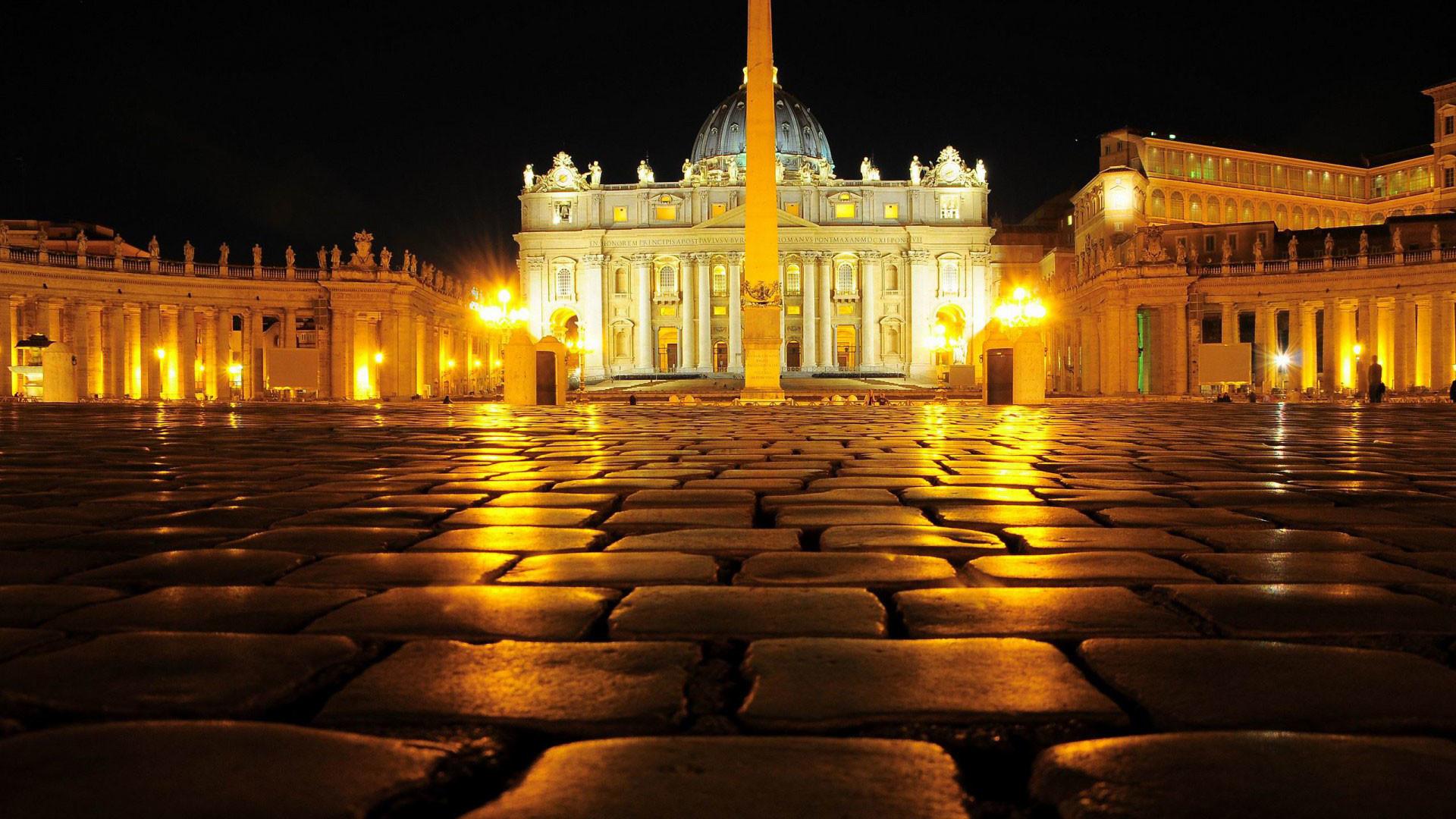 hd pics photos city vatican city night light desktop background wallpaper