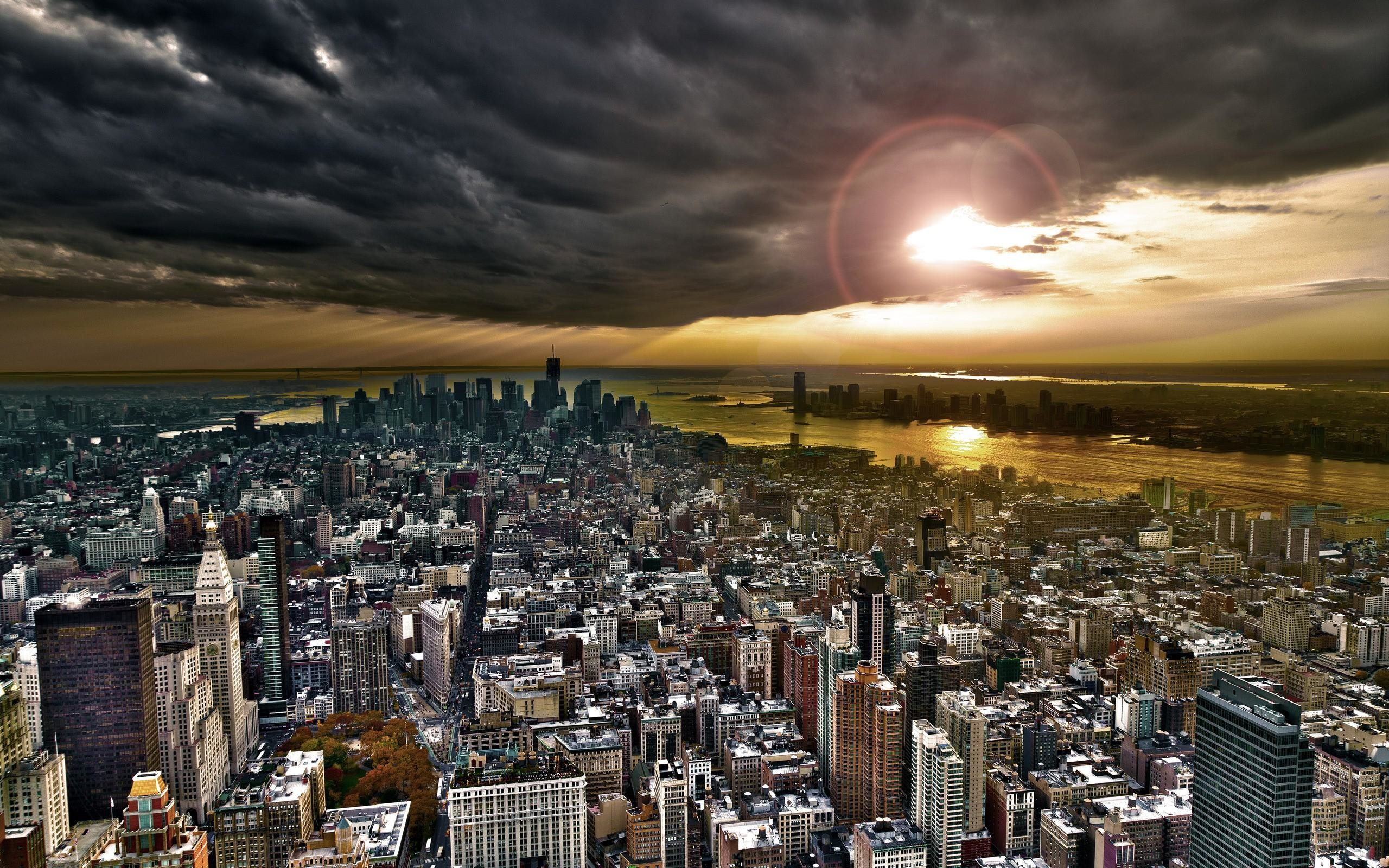 New York City Skyline Wallpaper 4K | Wide Screen Wallpaper 1080p,2K,4K
