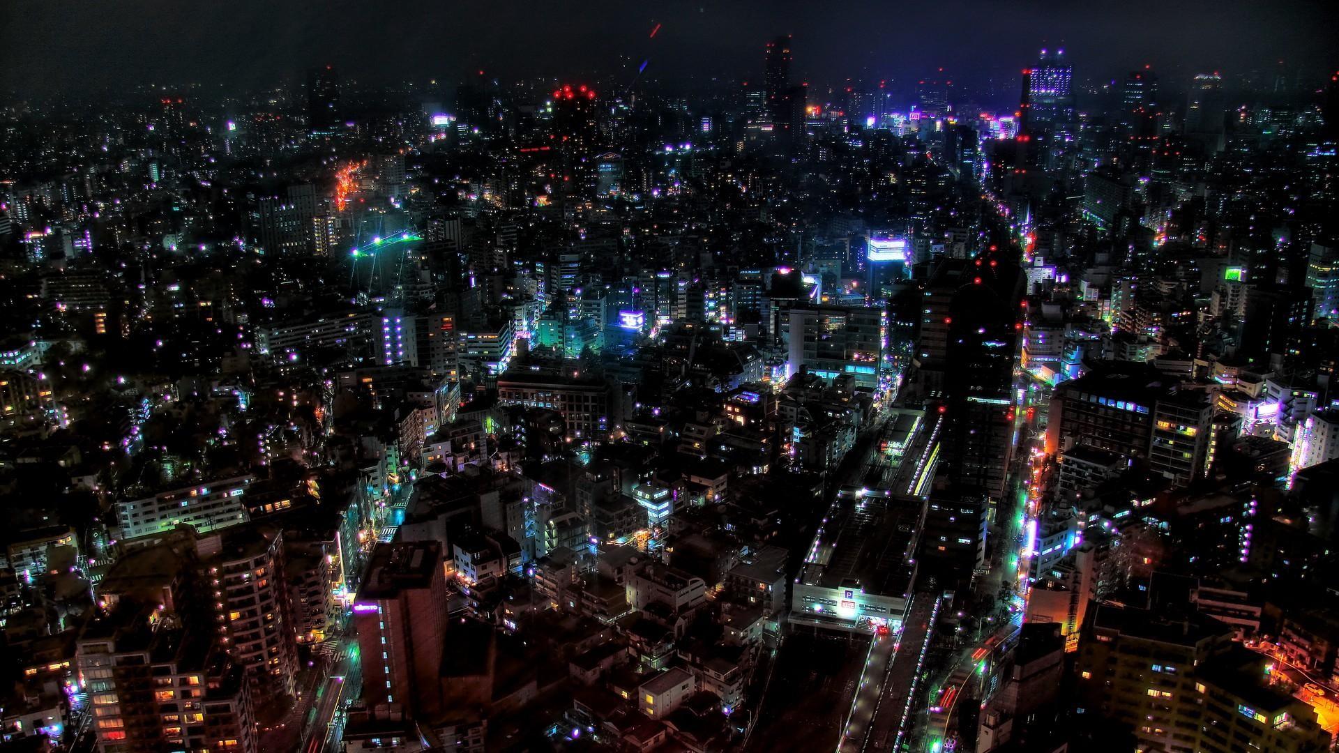 Amazing City Skyline Wallpaper