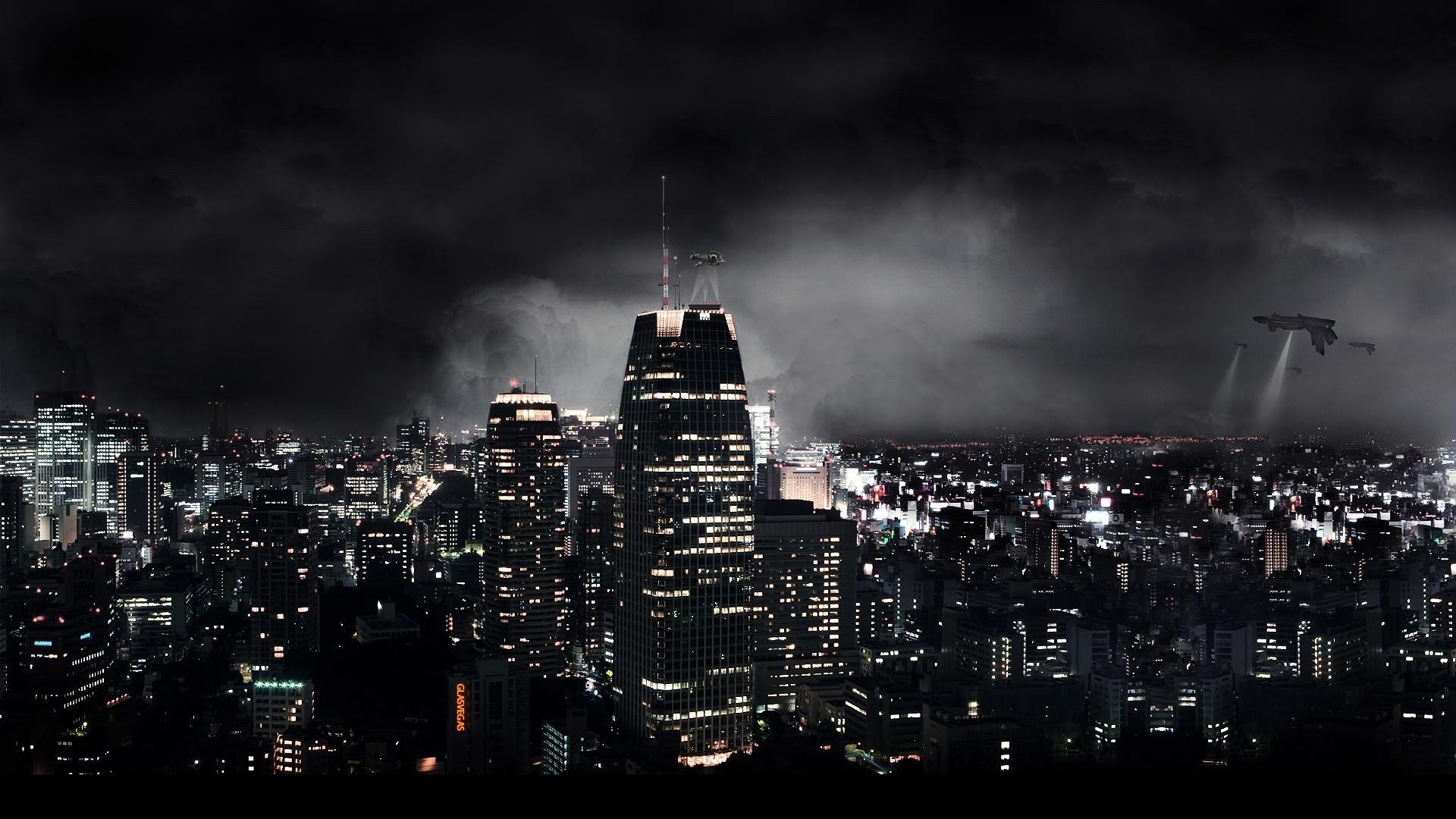 Cool City Skyline Wallpaper