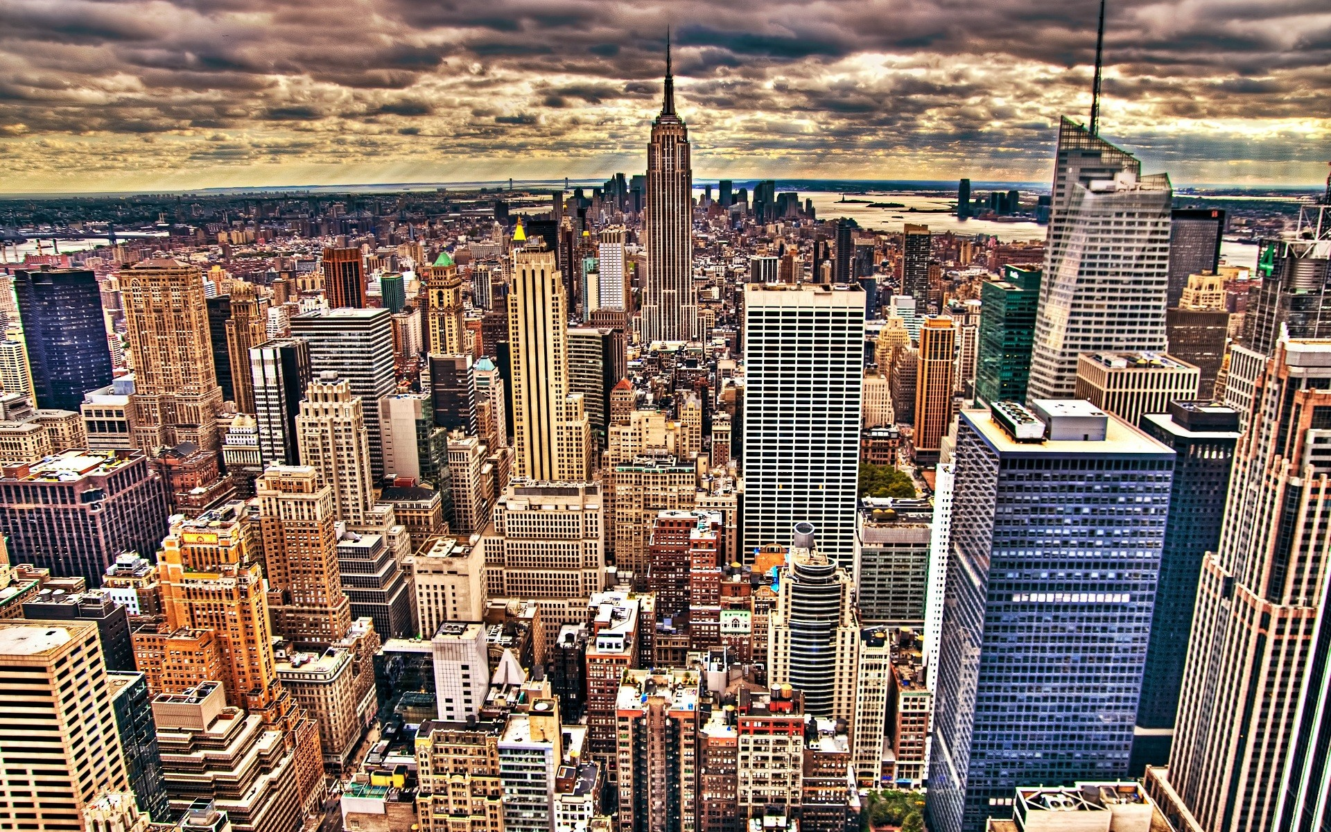 Cityscapes New York City Empire State Building city skyline wallpaper |  | 194261 | WallpaperUP